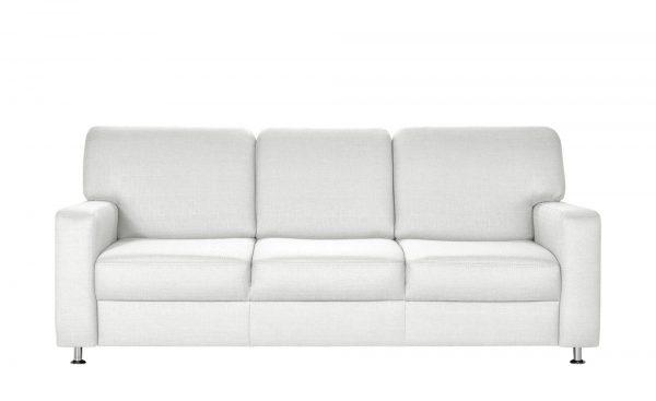 smart Sofa  Valencia smart Sofa  Valencia-Sofa-smart-weiß Breite: 212 cm Höhe: 90 cm weiß