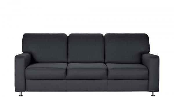 smart Sofa  Valencia smart Sofa  Valencia-Sofa-smart-schwarz Breite: 212 cm Höhe: 90 cm schwarz