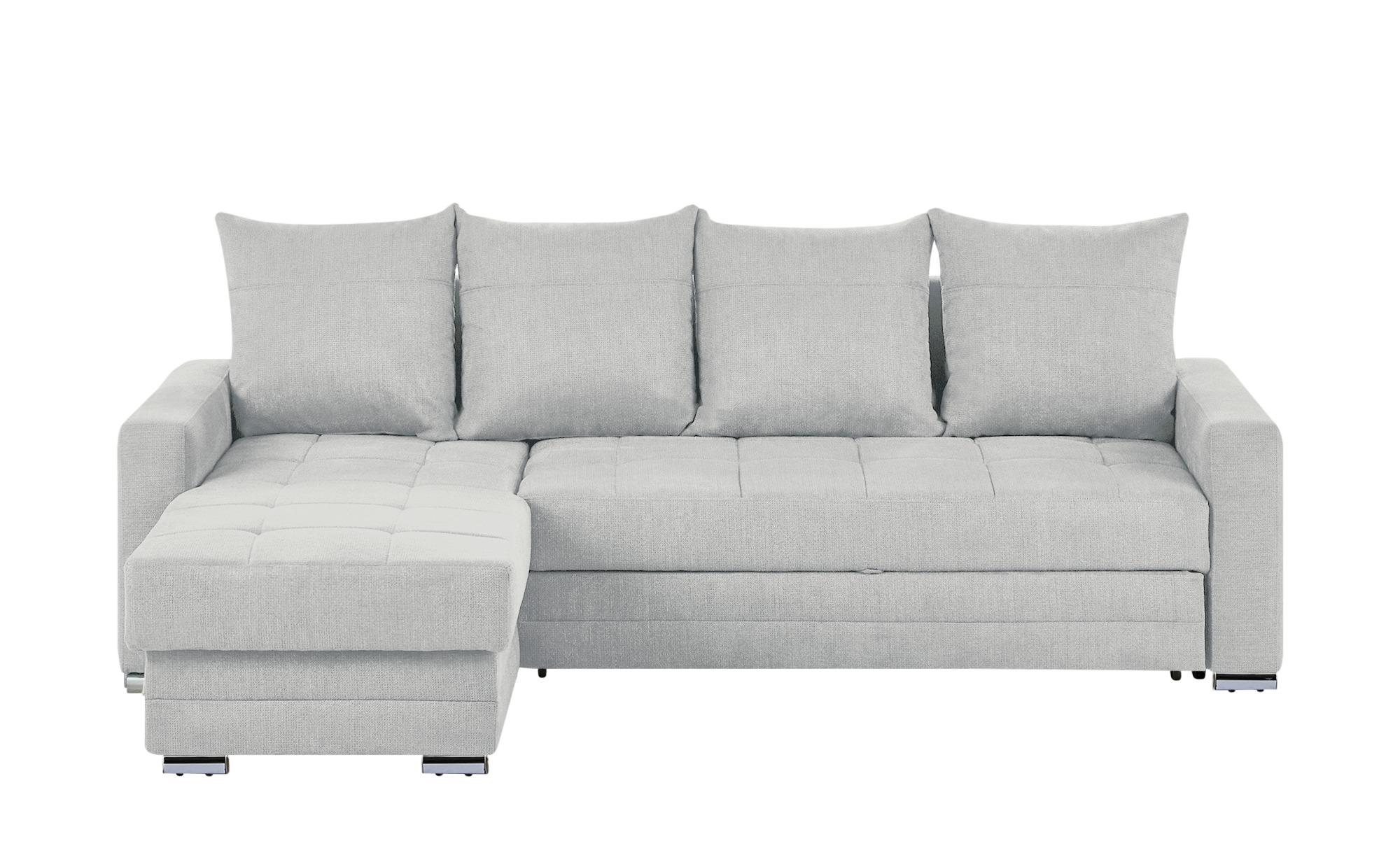 Switch ecksofa ulm breite h he 76 cm grau online kaufen for Ecksofa breite 200 cm
