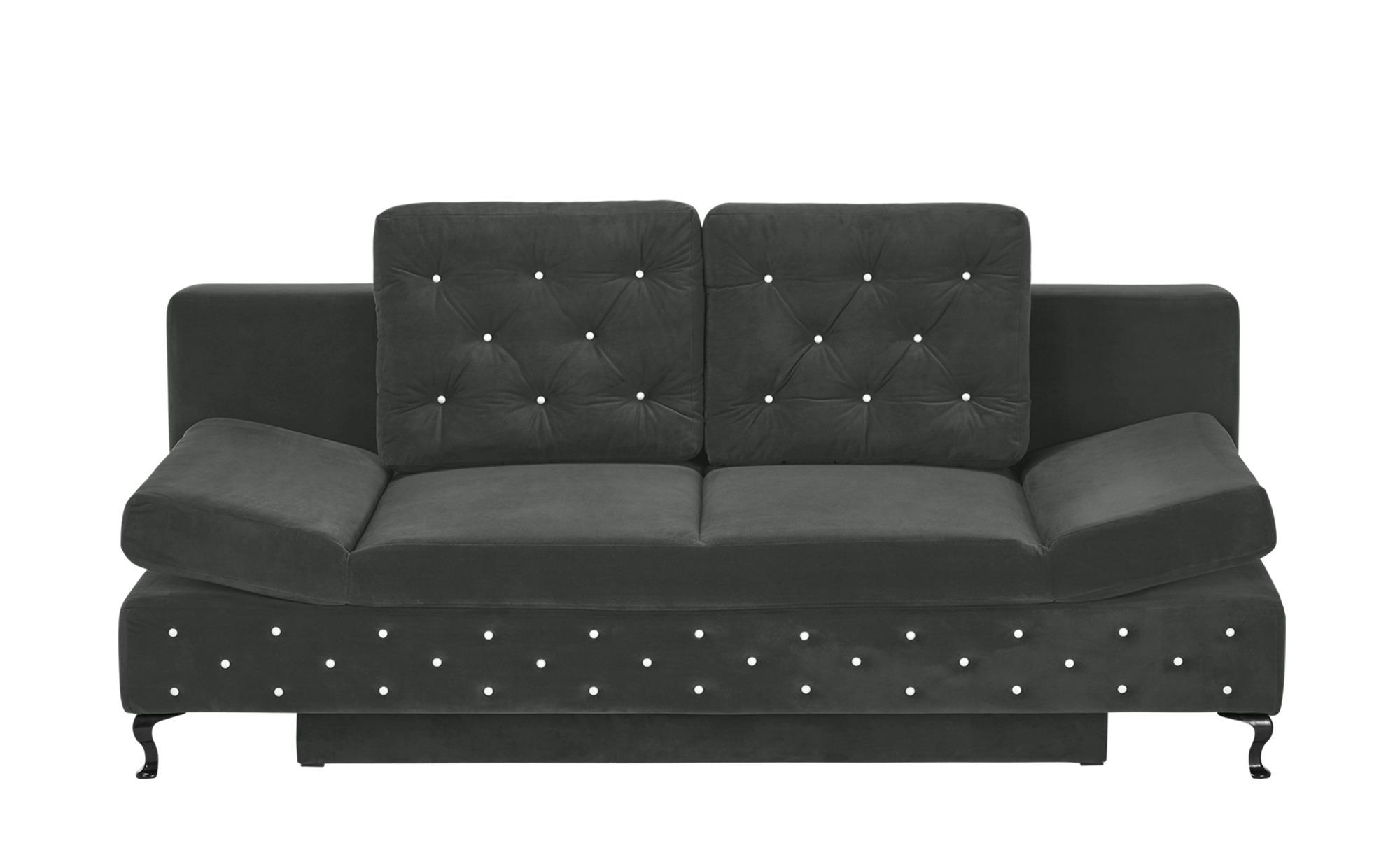 switch schlafsofa riviera breite 202 cm h he 75 cm grau. Black Bedroom Furniture Sets. Home Design Ideas