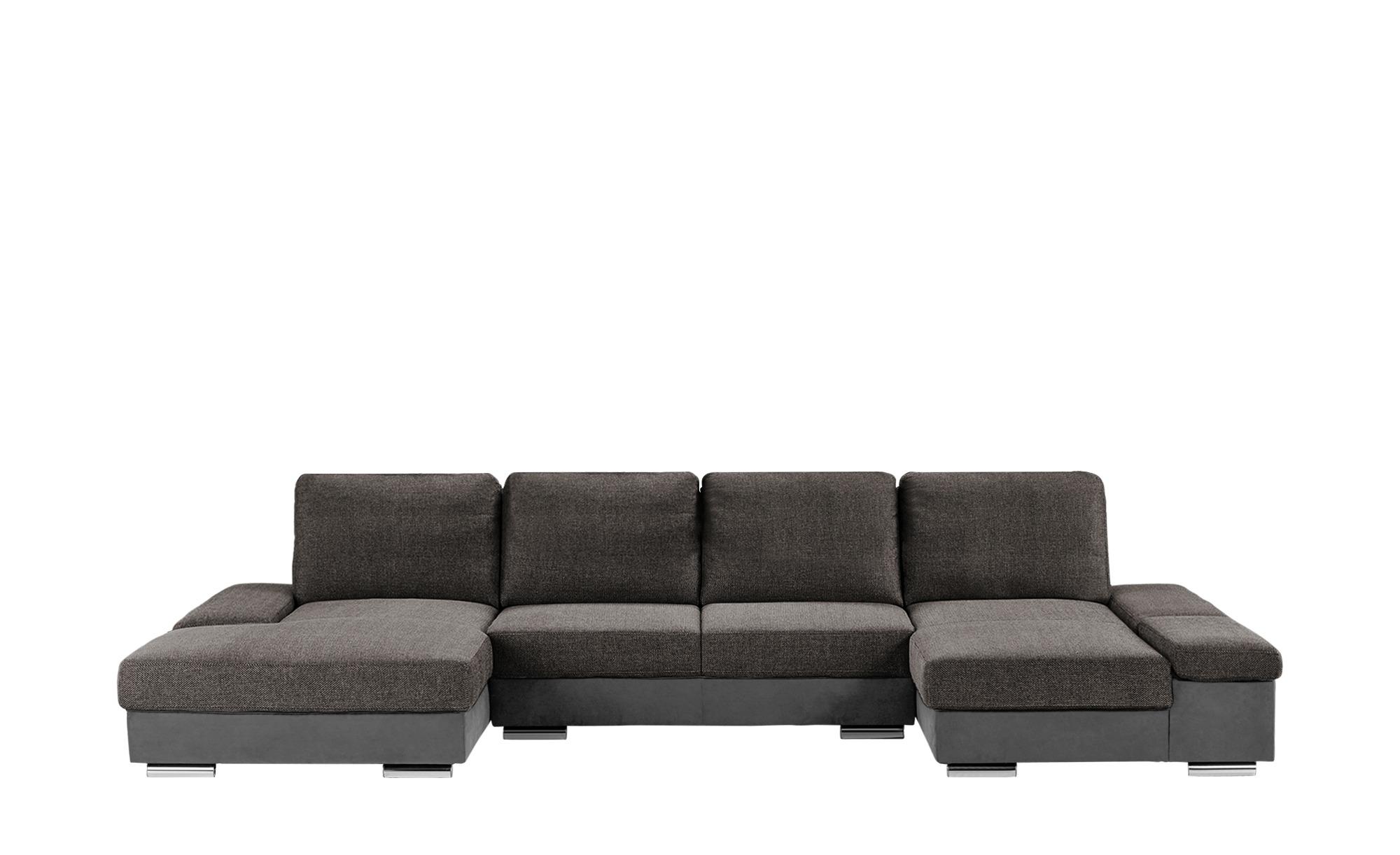 switch wohnlandschaft graz breite h he 87 cm braun. Black Bedroom Furniture Sets. Home Design Ideas