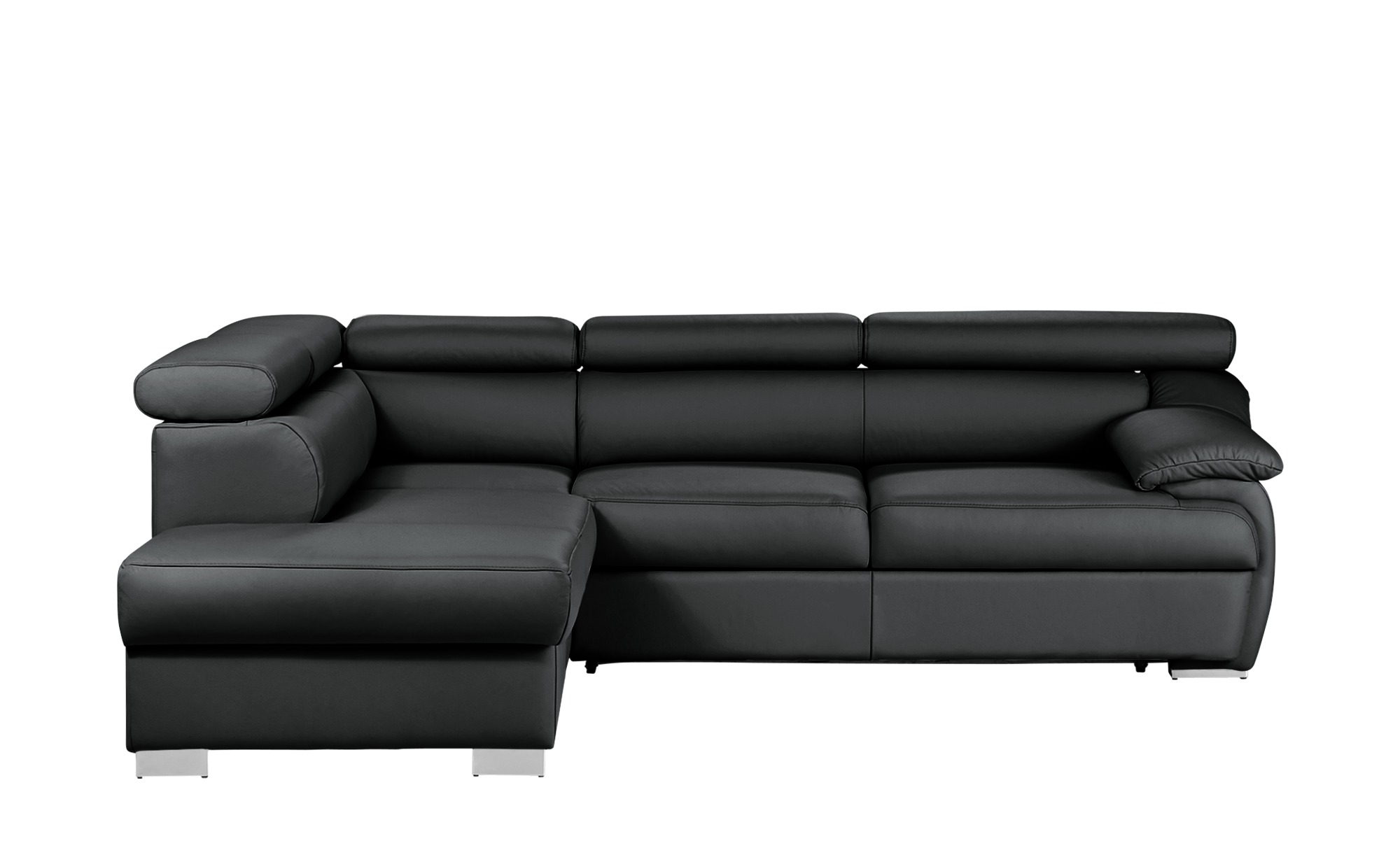 uno ecksofa bari breite h he schwarz online kaufen bei woonio. Black Bedroom Furniture Sets. Home Design Ideas