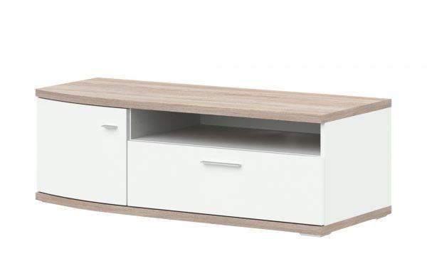 uno Lowboard Gabbro Breite: 122 cm Höhe: 41 cm weiß online kaufen ...