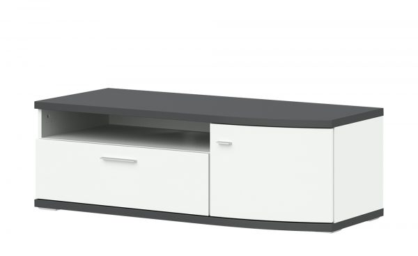 uno Lowboard  Gabbro uno Lowboard  Gabbro-Lowboard-uno-weiß Breite: 122 cm Höhe: 41 cm weiß