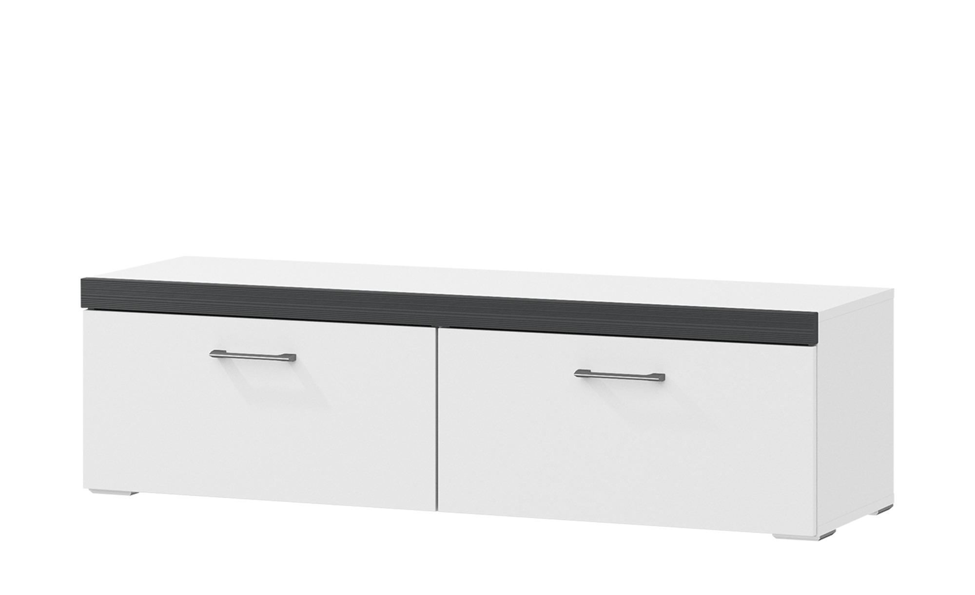 uno lowboard skarn breite 130 cm h he 37 cm wei online kaufen bei woonio. Black Bedroom Furniture Sets. Home Design Ideas