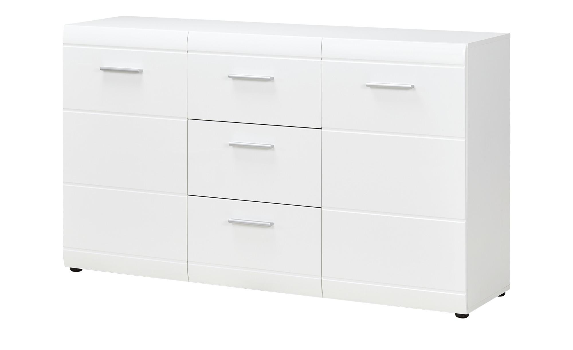 Uno Sideboard AKZENT Breite: 144 Cm Höhe: 86 Cm Weiß
