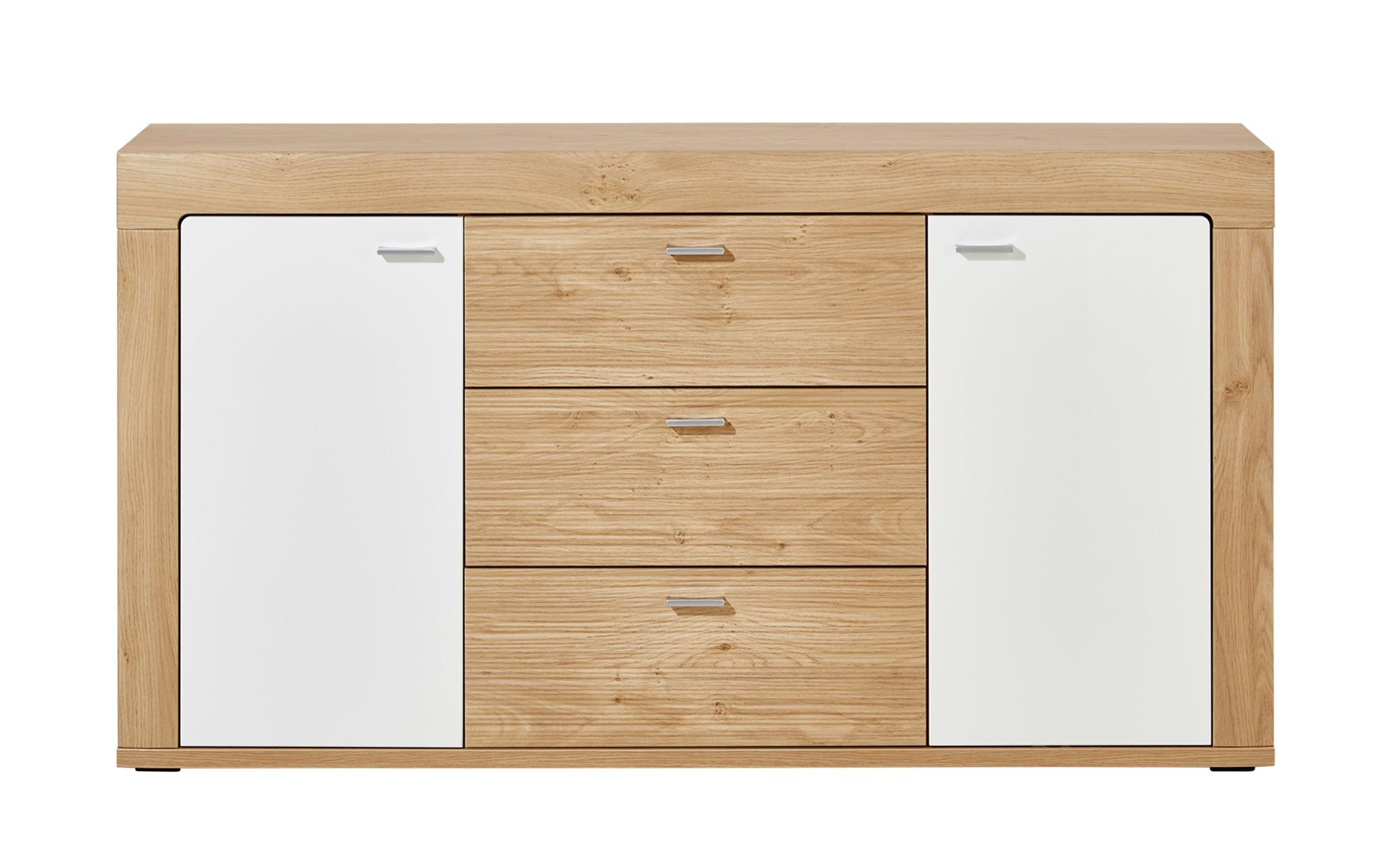 uno sideboard akzent breite 150 cm h he 82 cm holzfarben online kaufen bei woonio. Black Bedroom Furniture Sets. Home Design Ideas