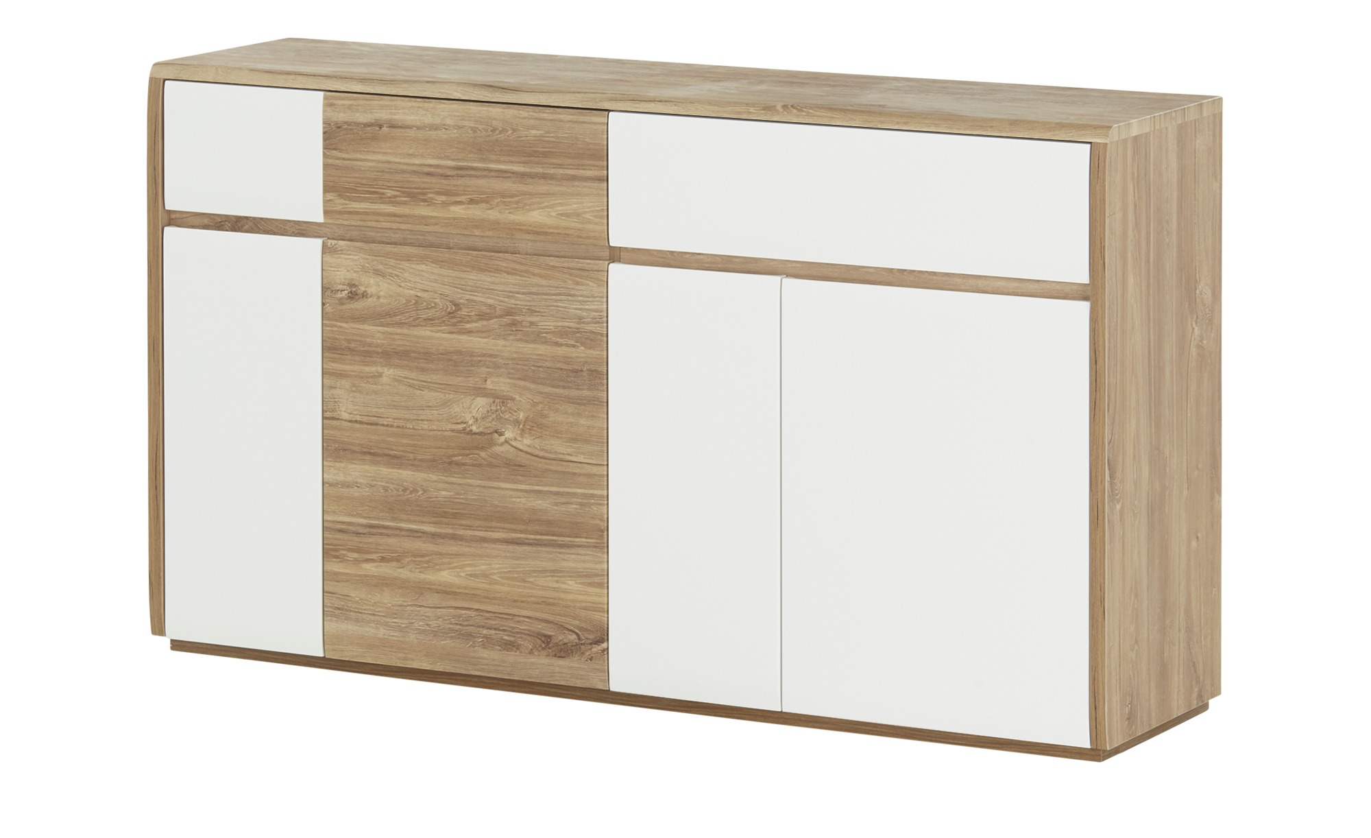 uno sideboard almero breite 160 cm h he 80 cm holzfarben online kaufen bei woonio. Black Bedroom Furniture Sets. Home Design Ideas