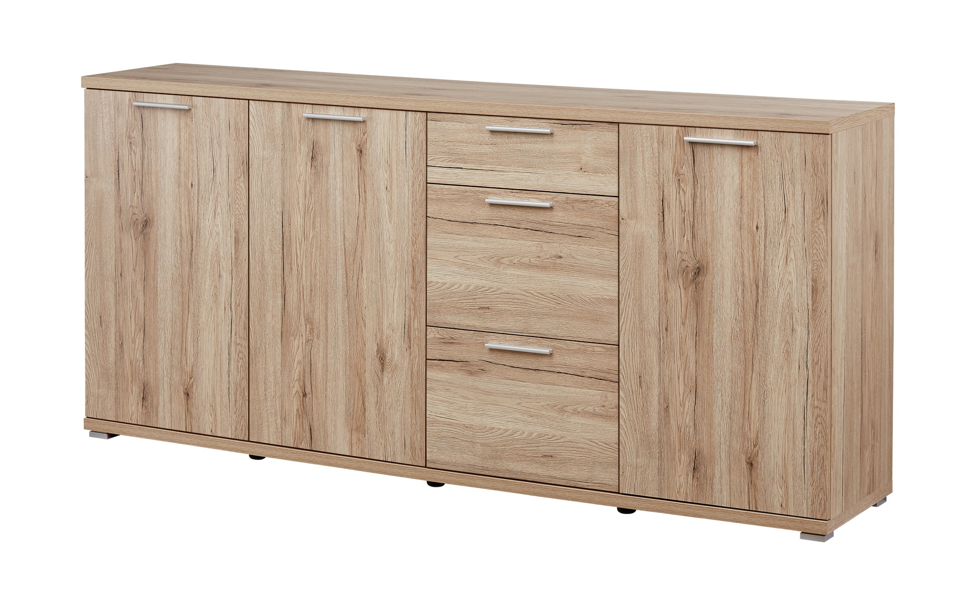 uno sideboard boult breite 192 cm h he 88 cm holzfarben. Black Bedroom Furniture Sets. Home Design Ideas