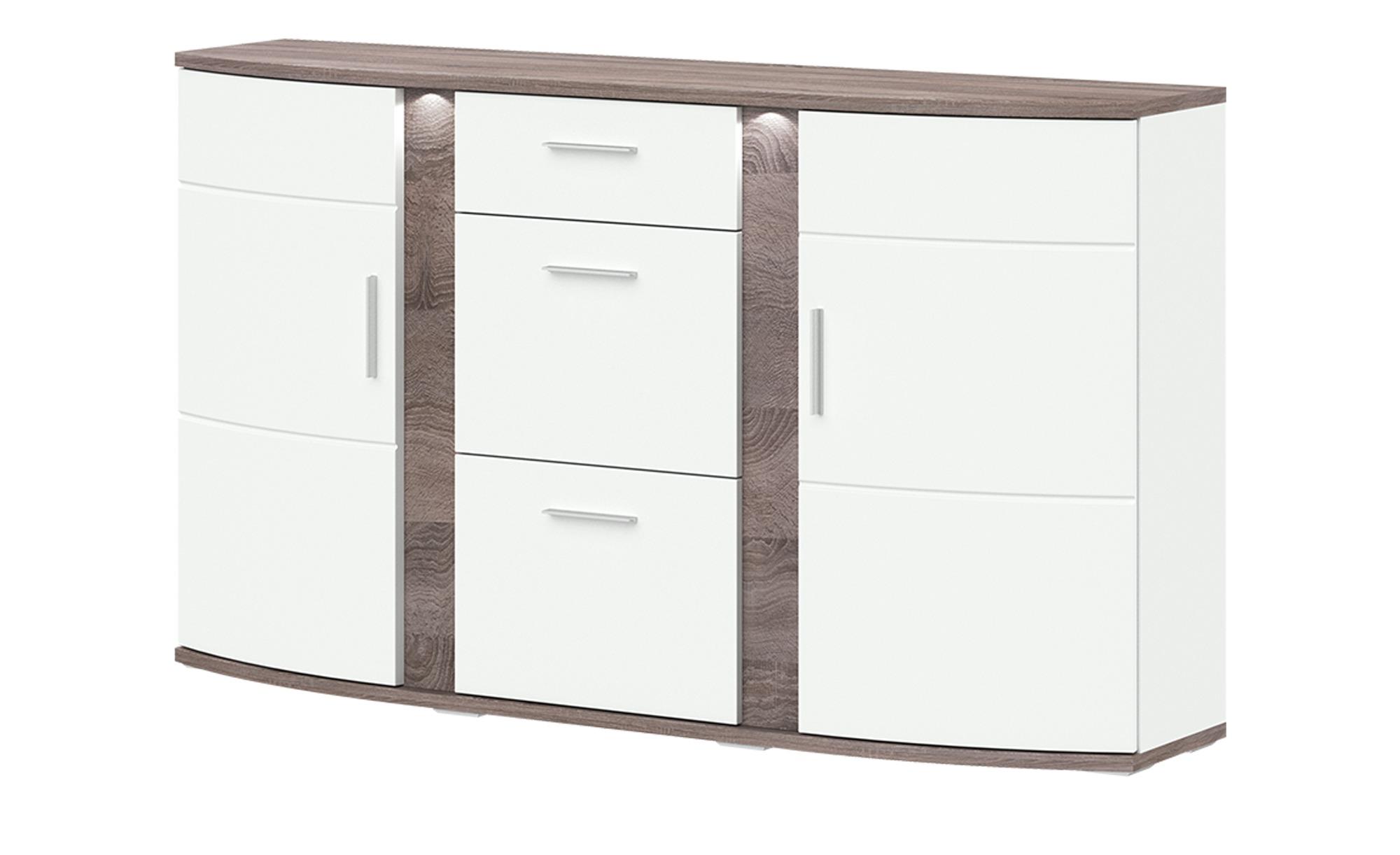Uno Sideboard Gabbro Breite: 164 Cm Höhe: 94 Cm Weiß