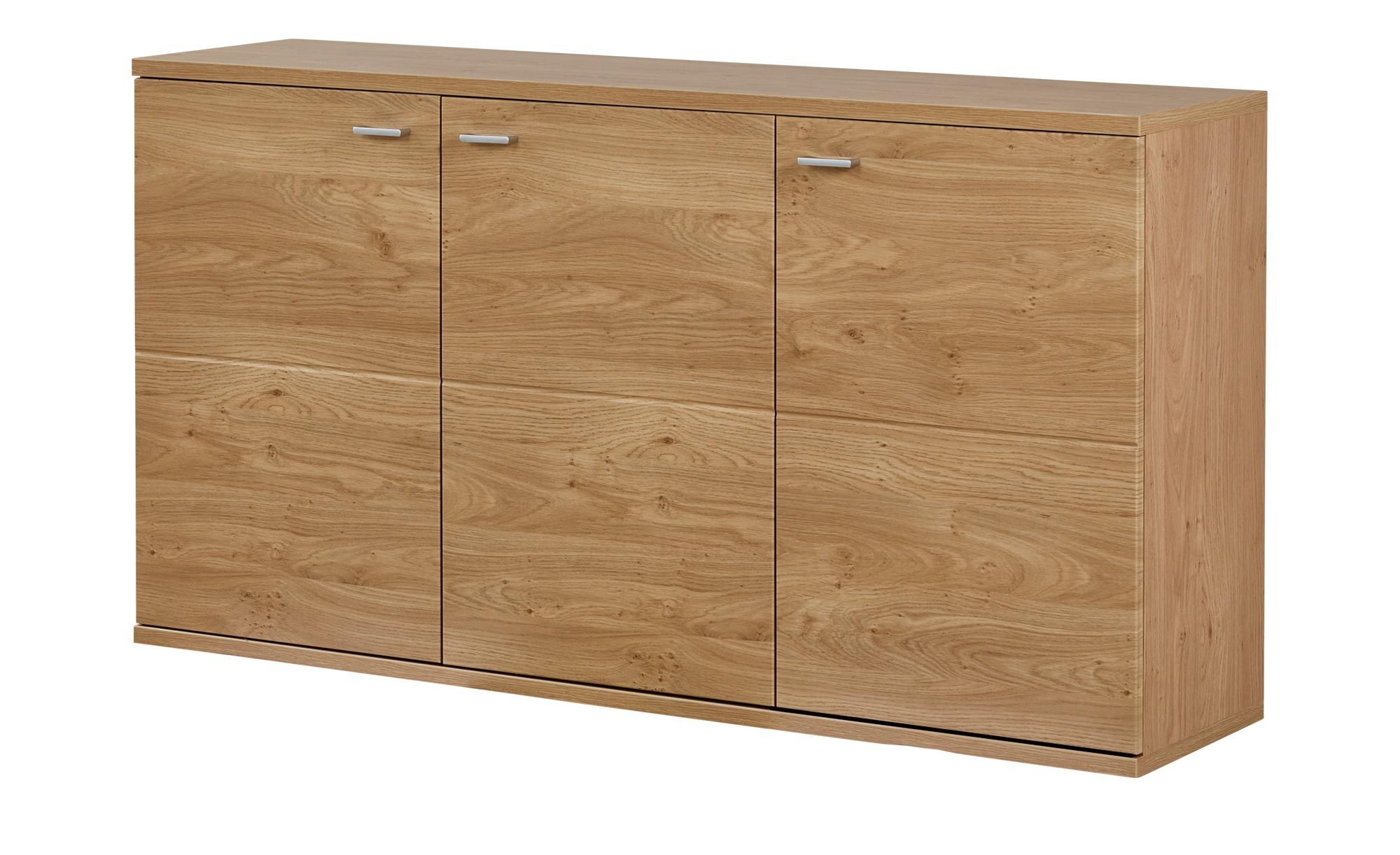 uno sideboard oregon breite 150 cm h he 80 cm holzfarben online kaufen bei woonio. Black Bedroom Furniture Sets. Home Design Ideas