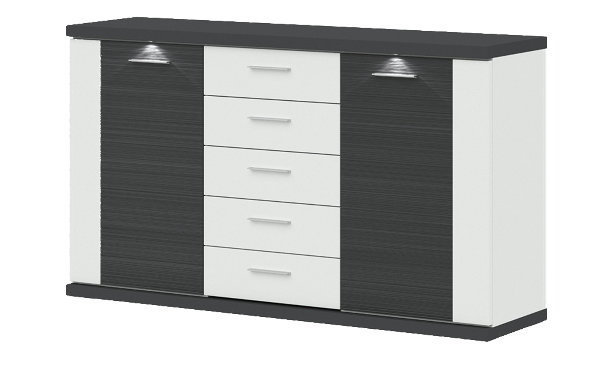 uno sideboard titan breite 156 cm h he 91 cm online kaufen bei woonio. Black Bedroom Furniture Sets. Home Design Ideas