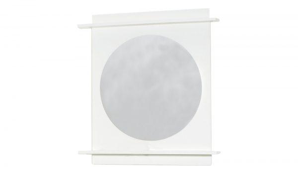 uno Spiegel  Lautersee uno Spiegel  Lautersee-Spiegel-uno-weiß Breite: 65 cm Höhe: 75 cm weiß