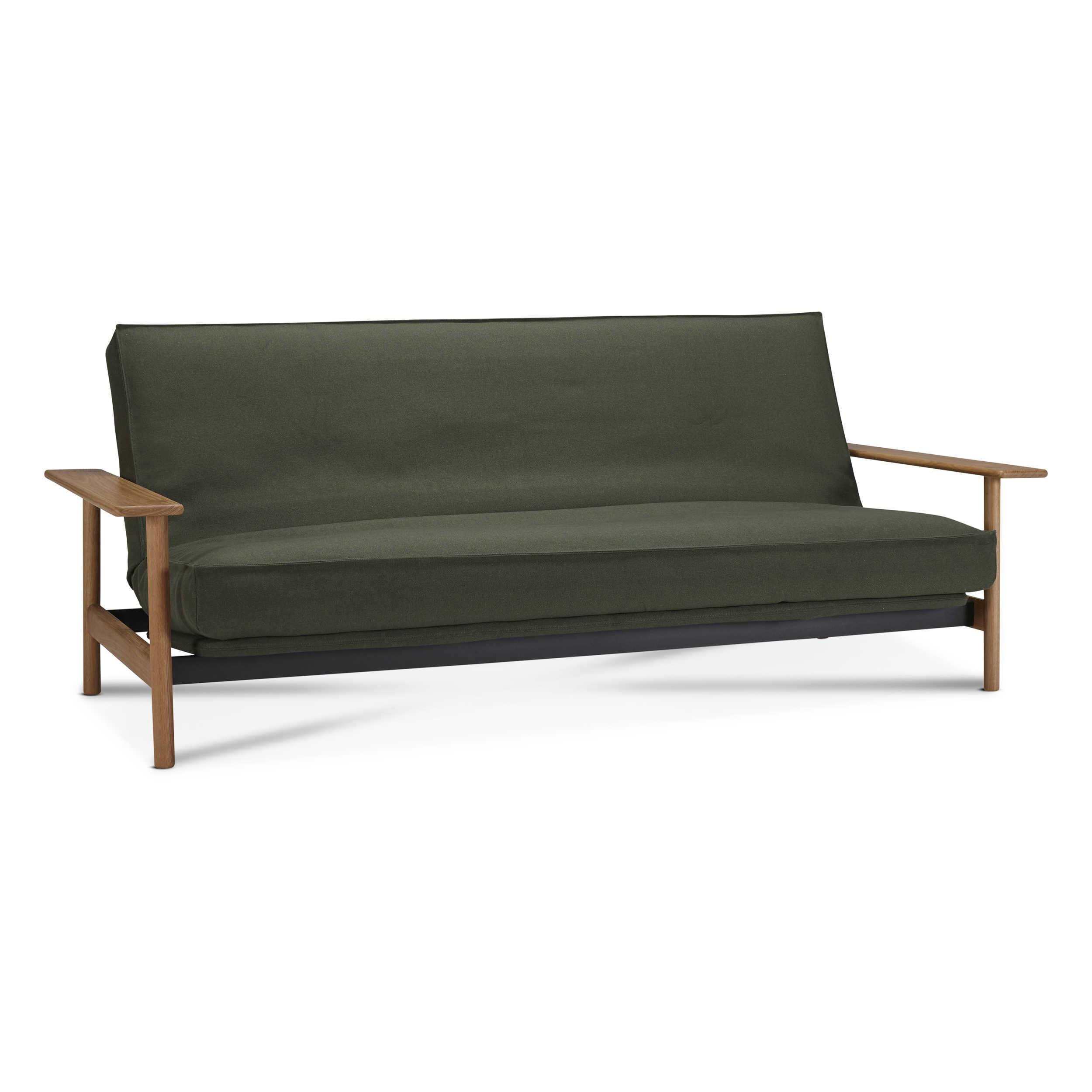 innovation schlafsofa balder gr n stoff online kaufen bei woonio. Black Bedroom Furniture Sets. Home Design Ideas