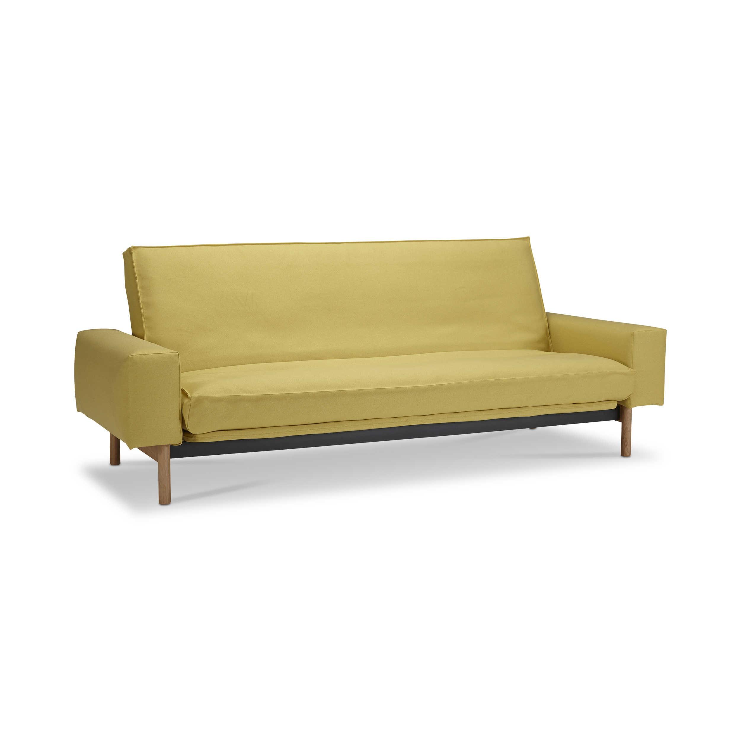 innovation schlafsofa mimer gelb stoff online kaufen bei woonio. Black Bedroom Furniture Sets. Home Design Ideas