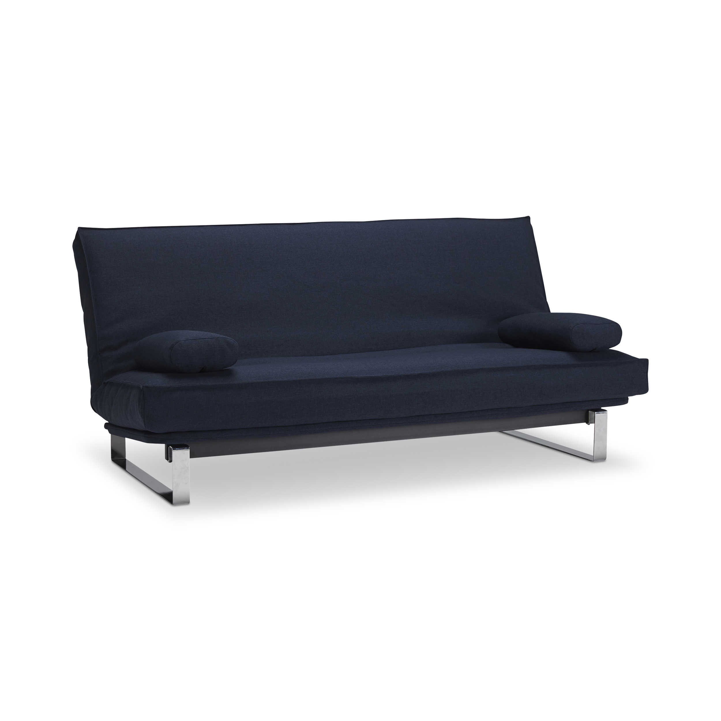 innovation schlafsofa minimum blau stoff online kaufen bei woonio. Black Bedroom Furniture Sets. Home Design Ideas