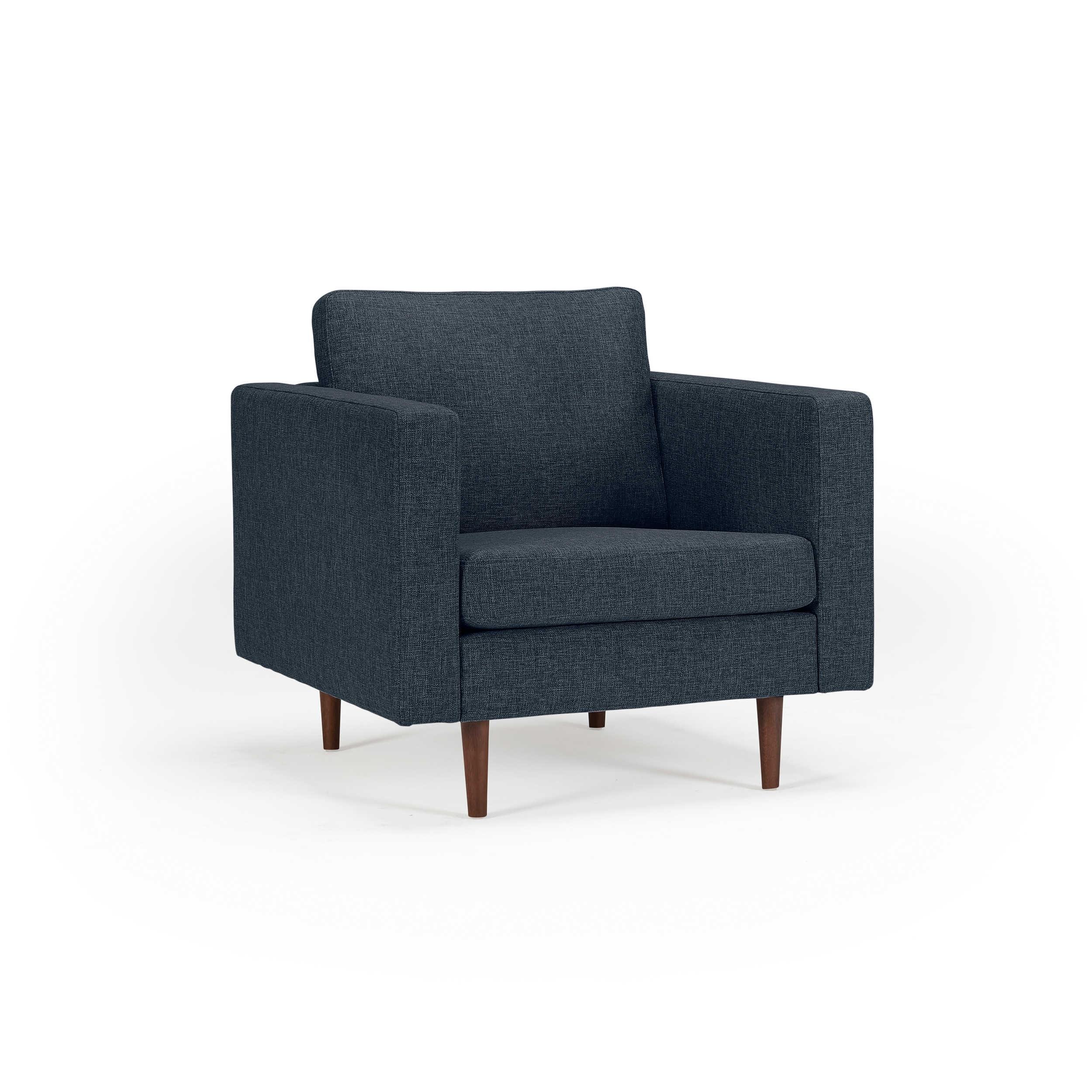 kragelund sessel k370 otto blau stoff online kaufen bei woonio. Black Bedroom Furniture Sets. Home Design Ideas