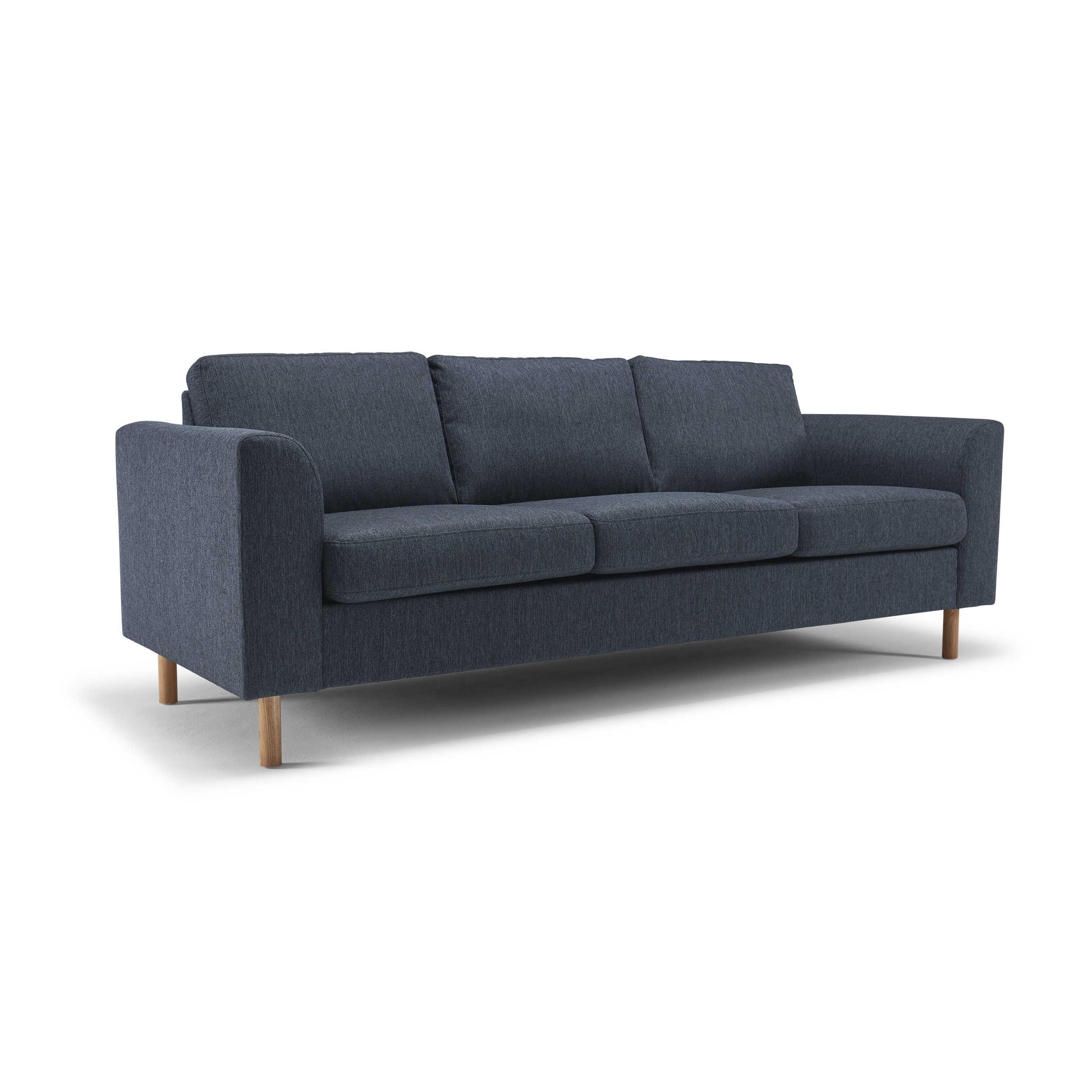 kragelund sofa k365 vida blau stoff online kaufen bei woonio. Black Bedroom Furniture Sets. Home Design Ideas