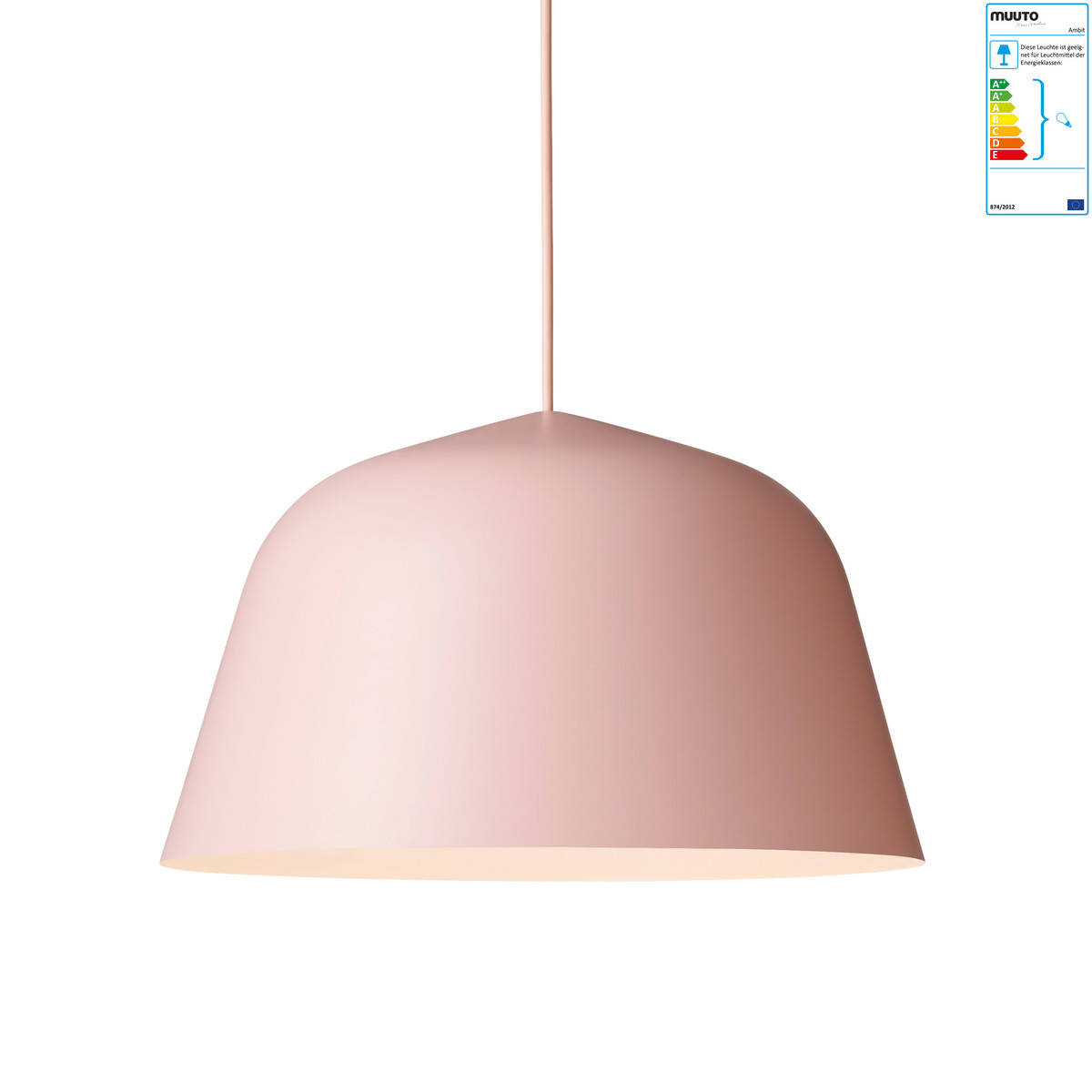 muuto ambit pendelleuchte 40 cm rosa rosa h 23 online kaufen bei woonio. Black Bedroom Furniture Sets. Home Design Ideas