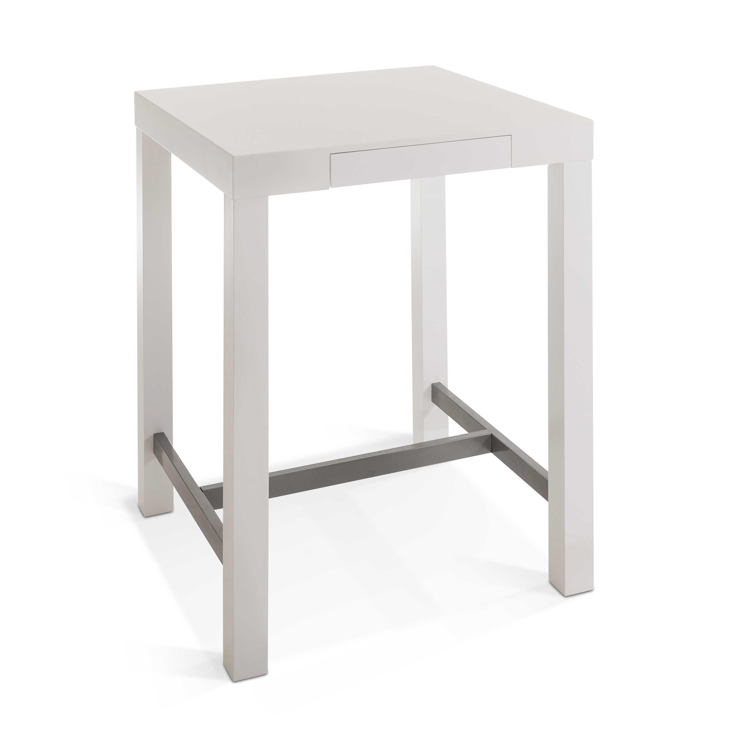 actona bartisch balme 80 x 80 cm wei lack hochglanz online kaufen bei woonio. Black Bedroom Furniture Sets. Home Design Ideas