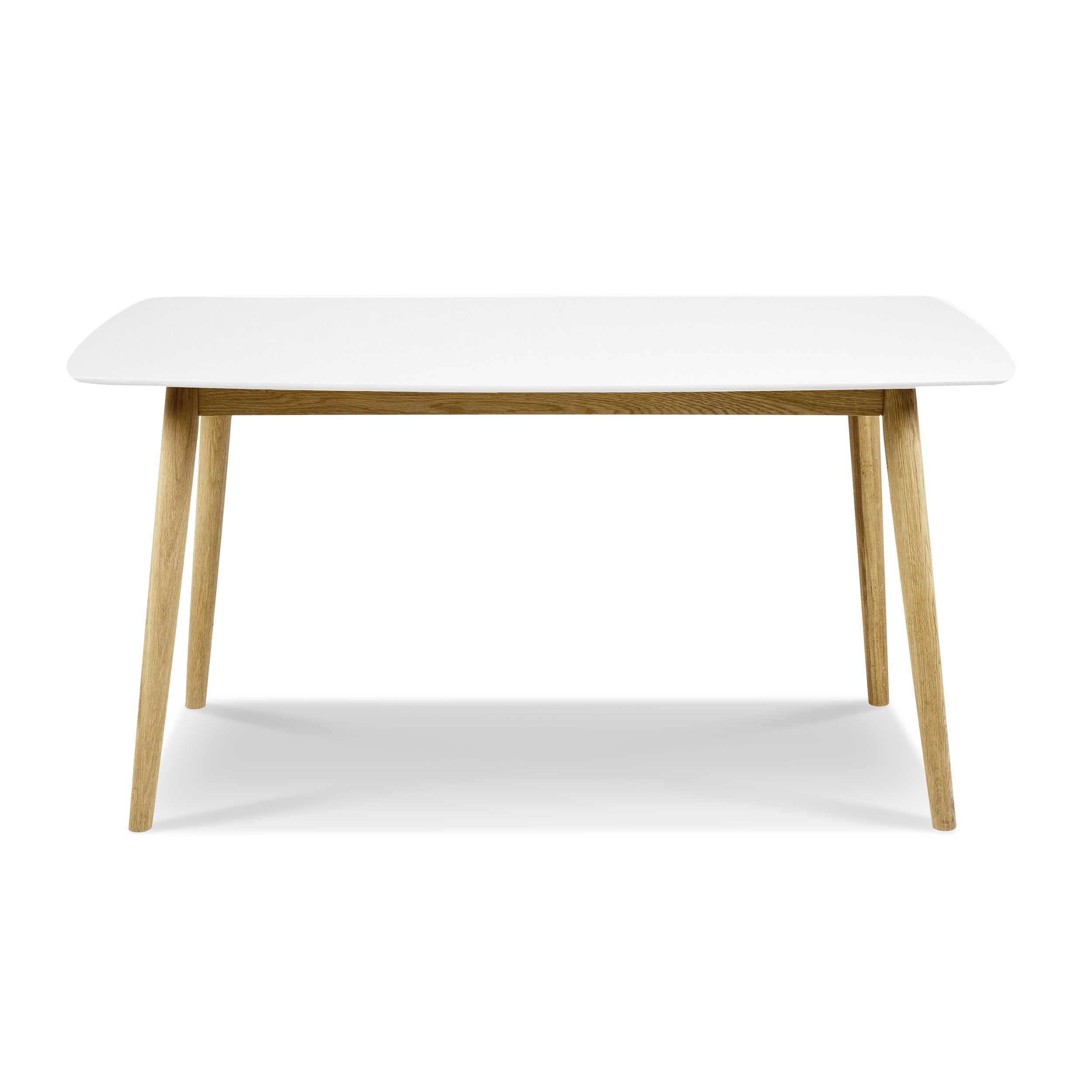 actona esstisch marta 150 x 80 cm wei holz 150 x 80 cm online kaufen bei woonio. Black Bedroom Furniture Sets. Home Design Ideas