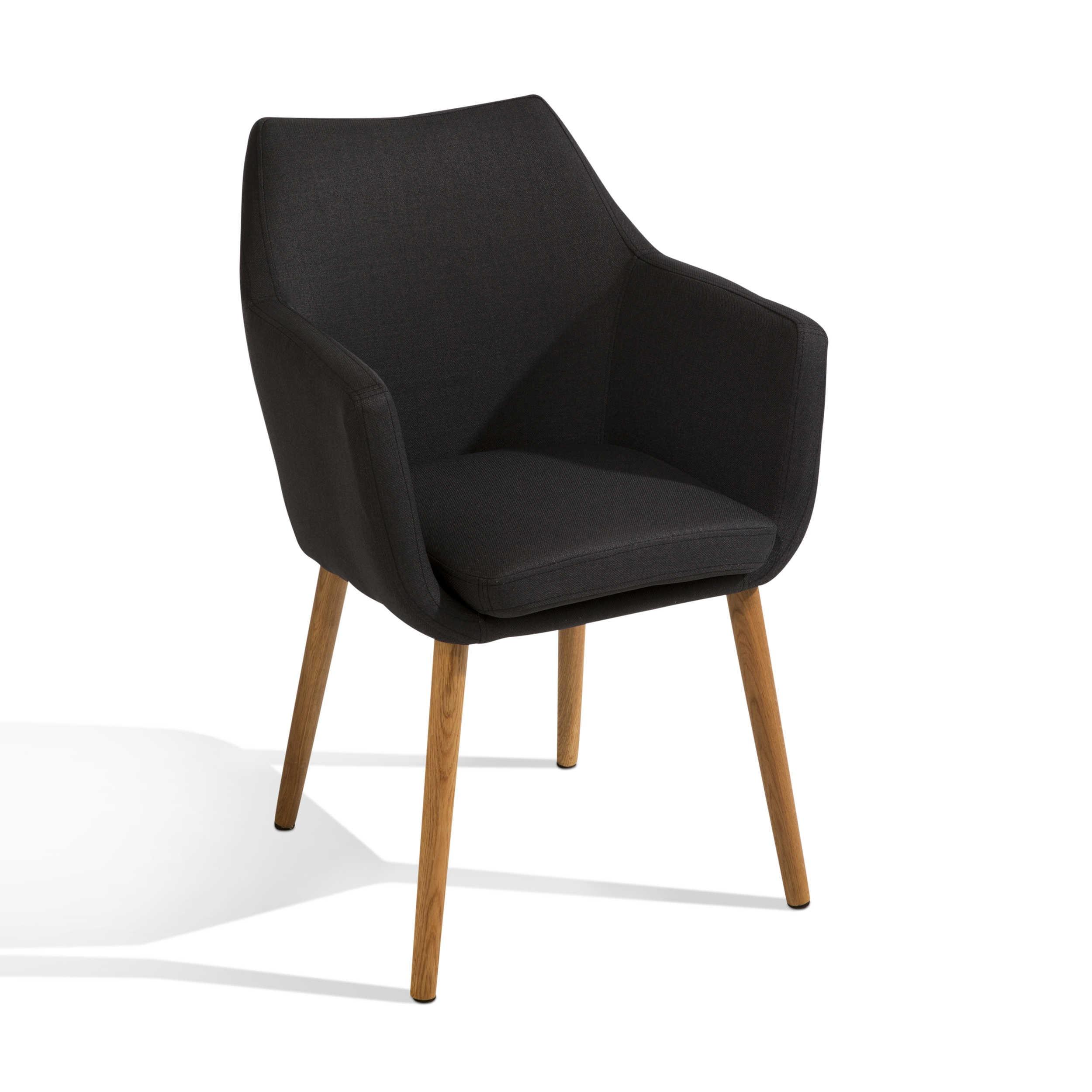 actona stuhl petrulli anthrazit stoff online kaufen bei woonio. Black Bedroom Furniture Sets. Home Design Ideas