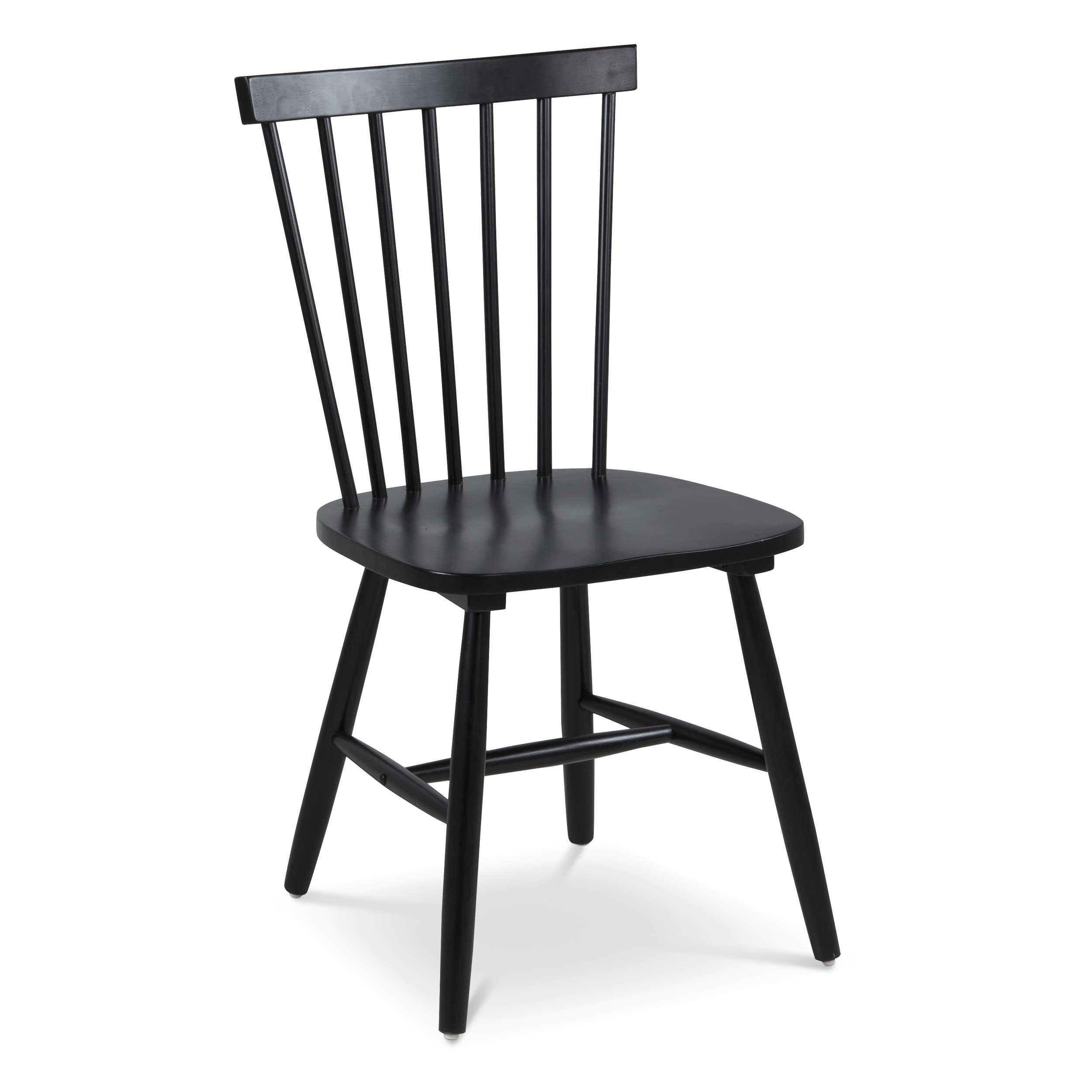 Actona stuhl riano schwarz holz online kaufen bei woonio - Stuhl holz schwarz ...