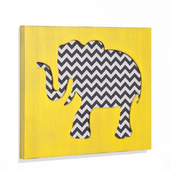 BOLTZE Wanddeko 60 x 49 cm Elefant