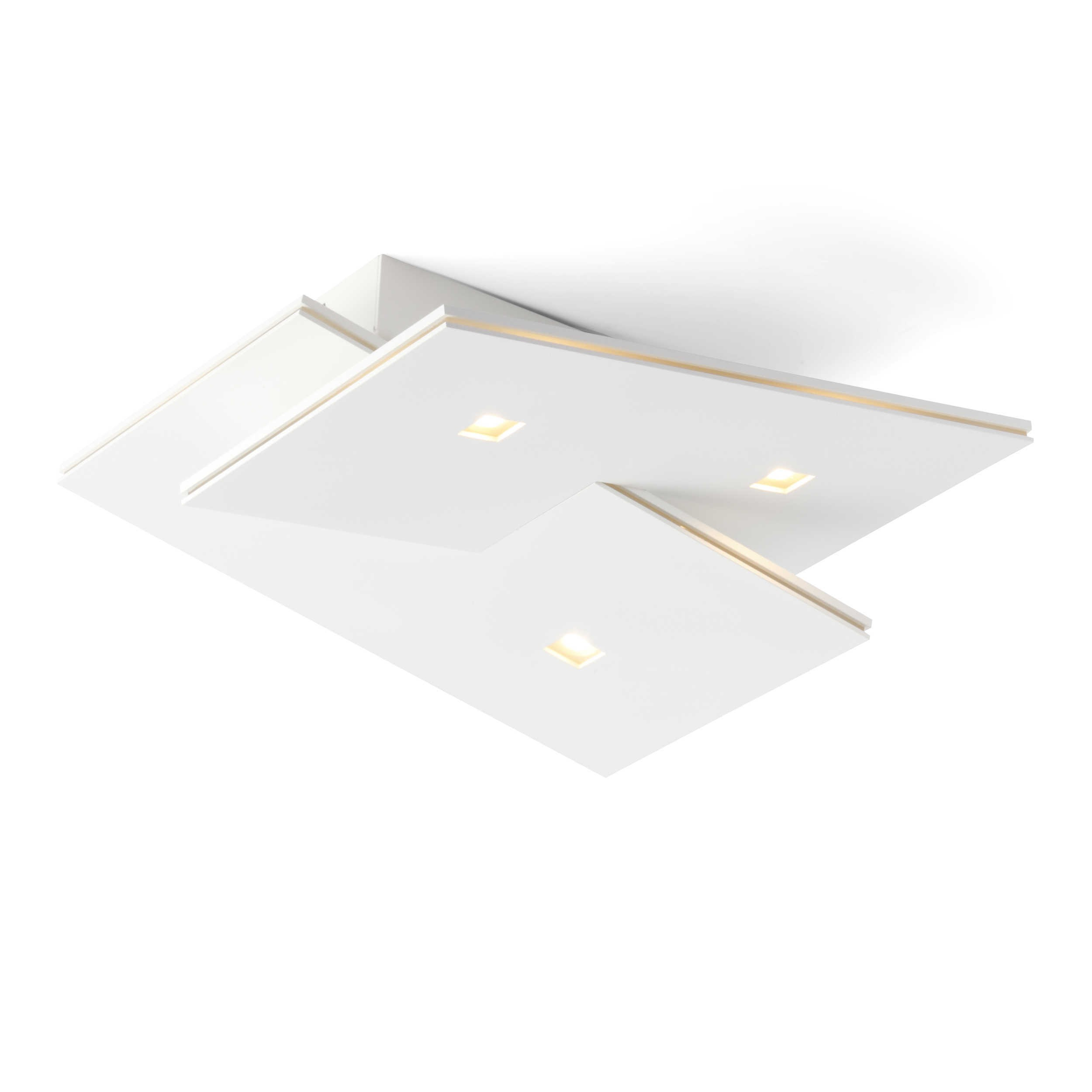 Designer Deckenleuchte Roma 30 Kaufen: Bopp LED-Deckenleuchte Extra A+ Weiß Chrom,Alu,Nickel