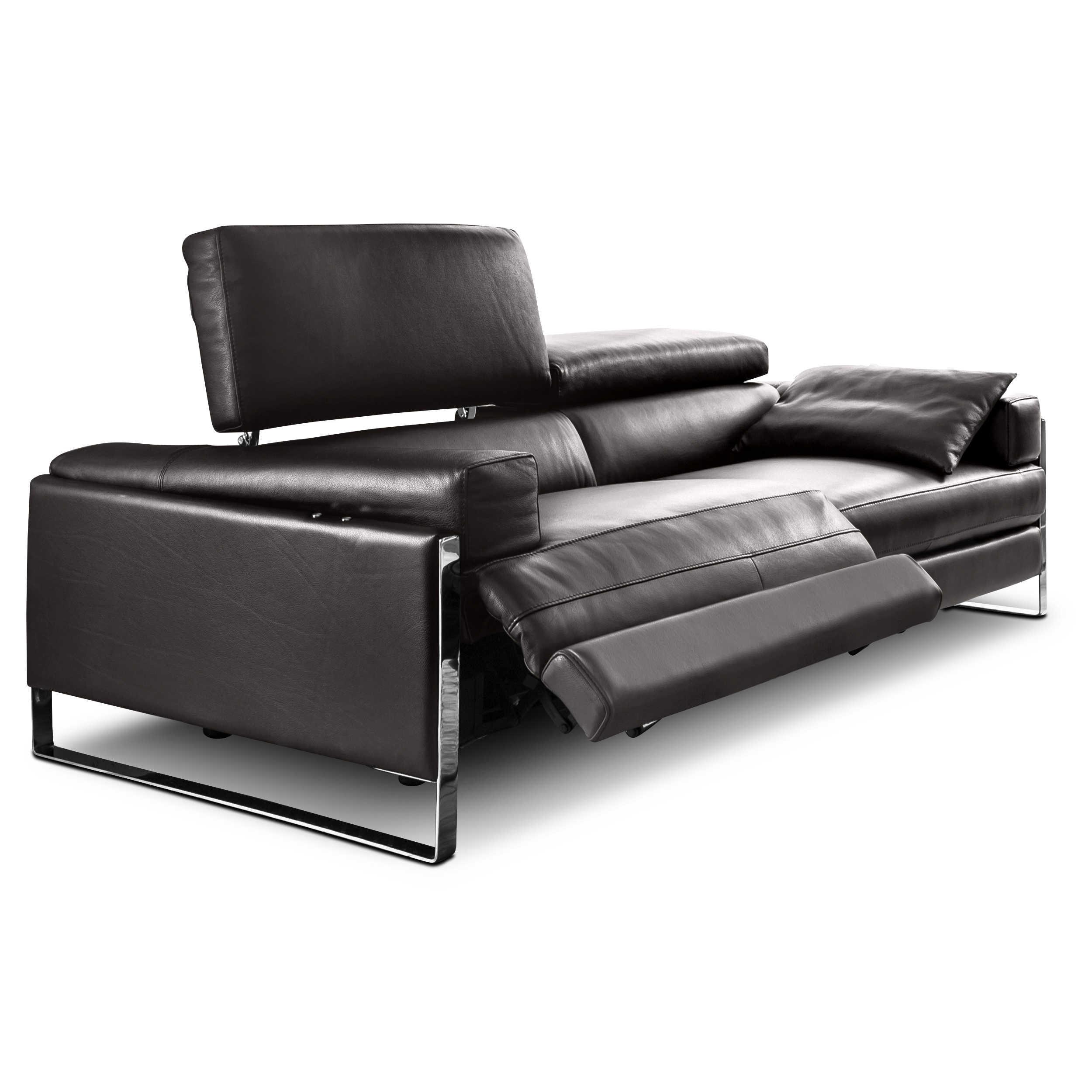 calia sofa romeo relax cal 808 braun leder online kaufen bei woonio. Black Bedroom Furniture Sets. Home Design Ideas