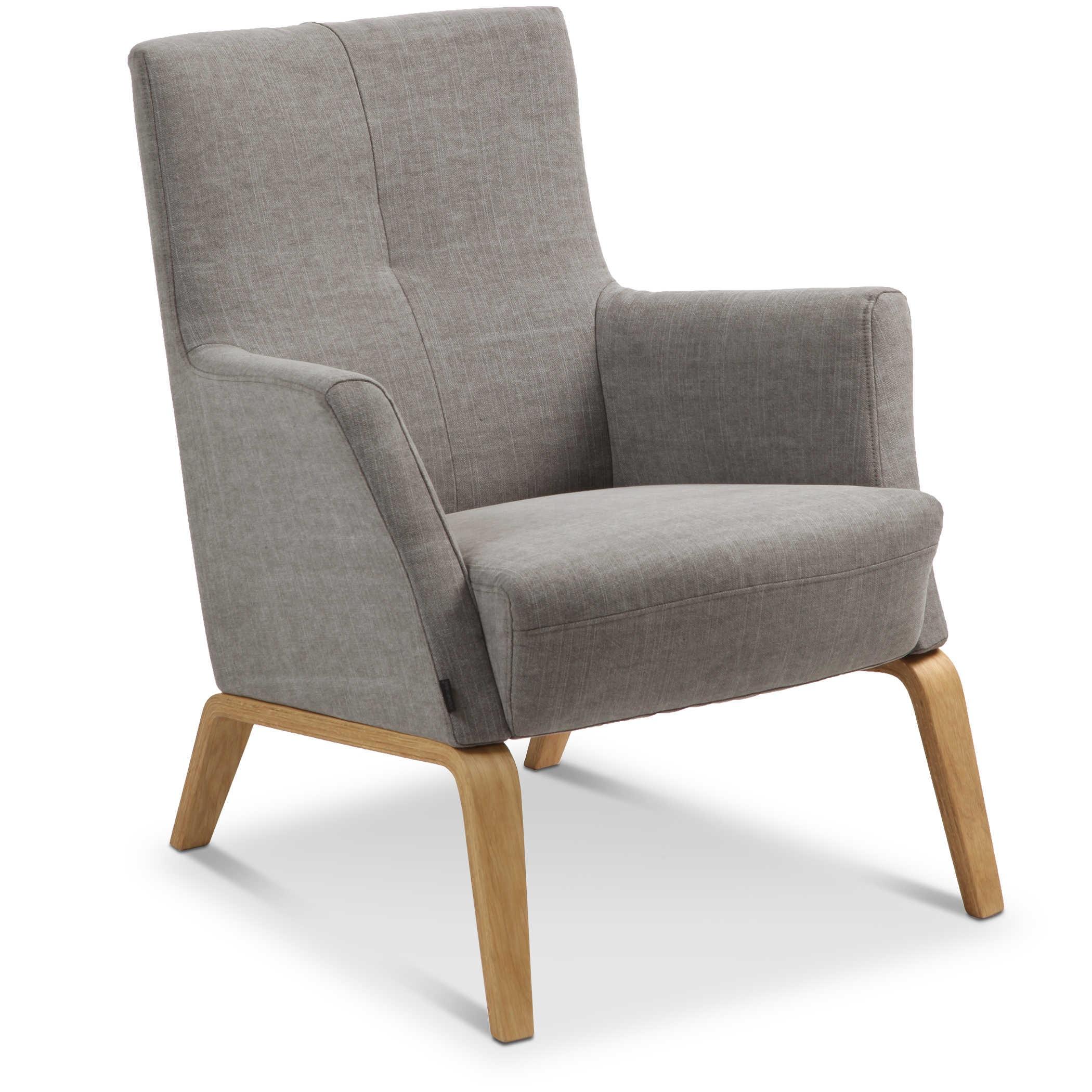 conform sessel mia braun stoff online kaufen bei woonio. Black Bedroom Furniture Sets. Home Design Ideas