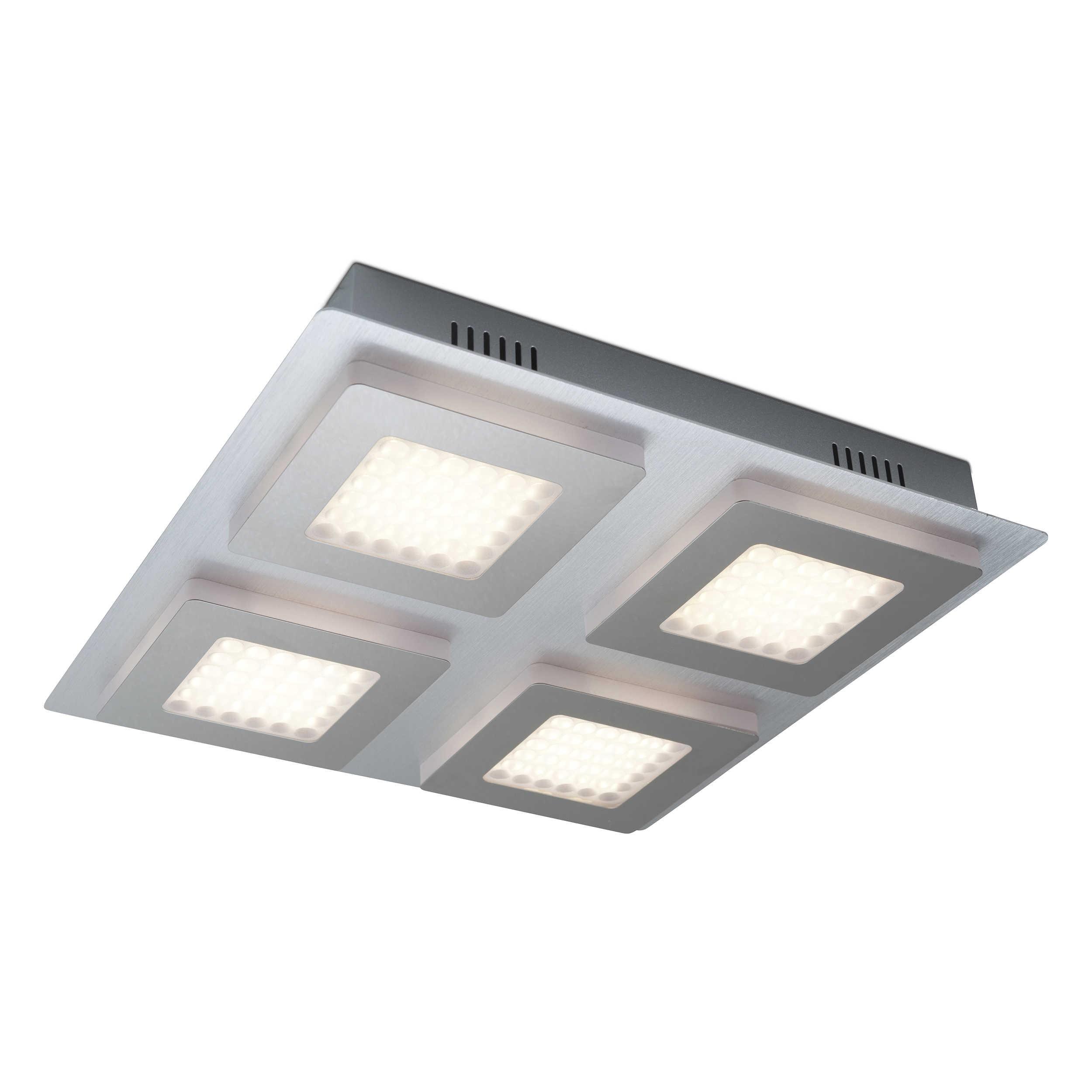 Designer Deckenleuchte Roma 30 Kaufen: DesignLive LED-Deckenleuchte Alonos A+ Chrom Chrom,Alu
