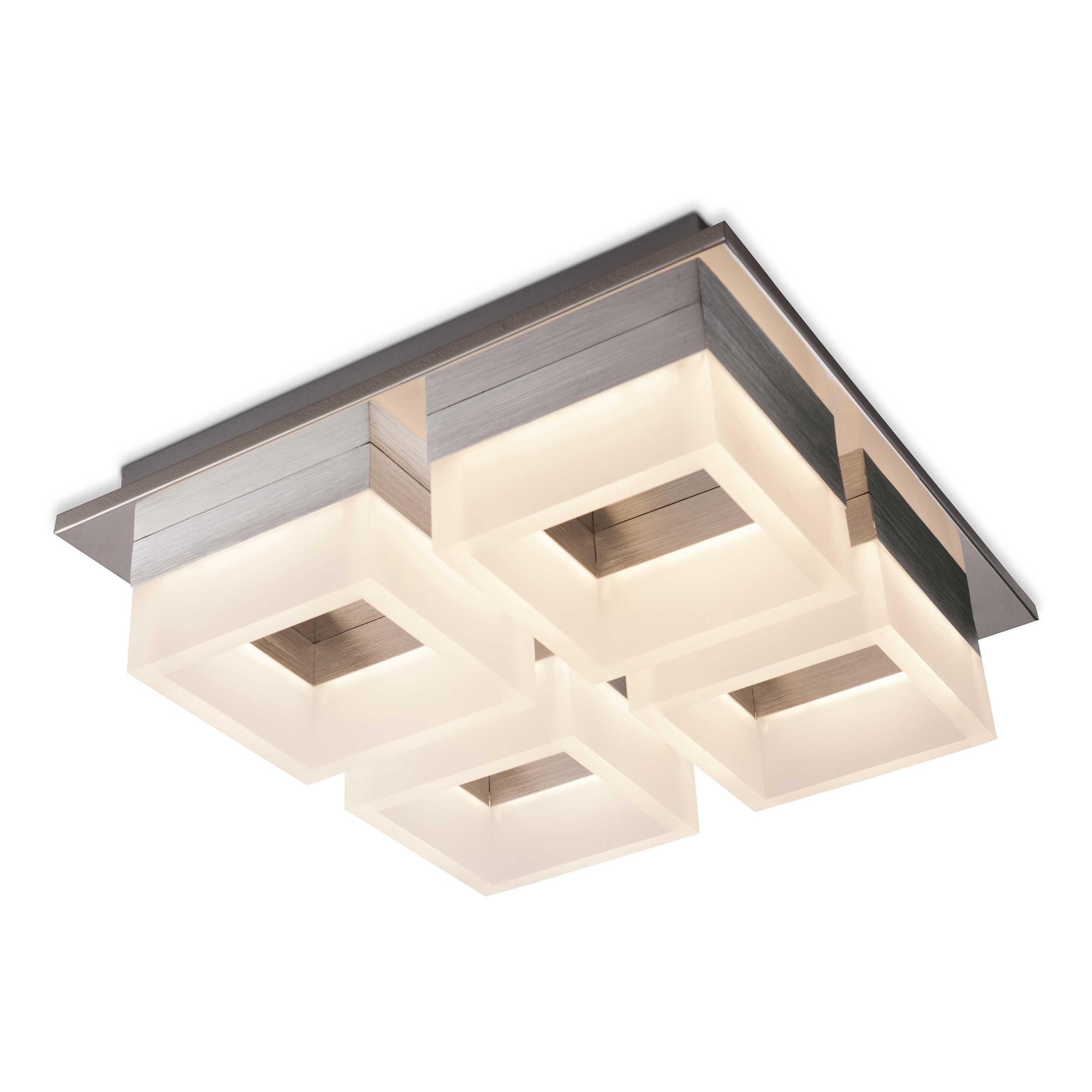 Designer Deckenleuchte Roma 30 Kaufen: DesignLive LED-Deckenleuchte Altai A+ Chrom Chrom,Alu