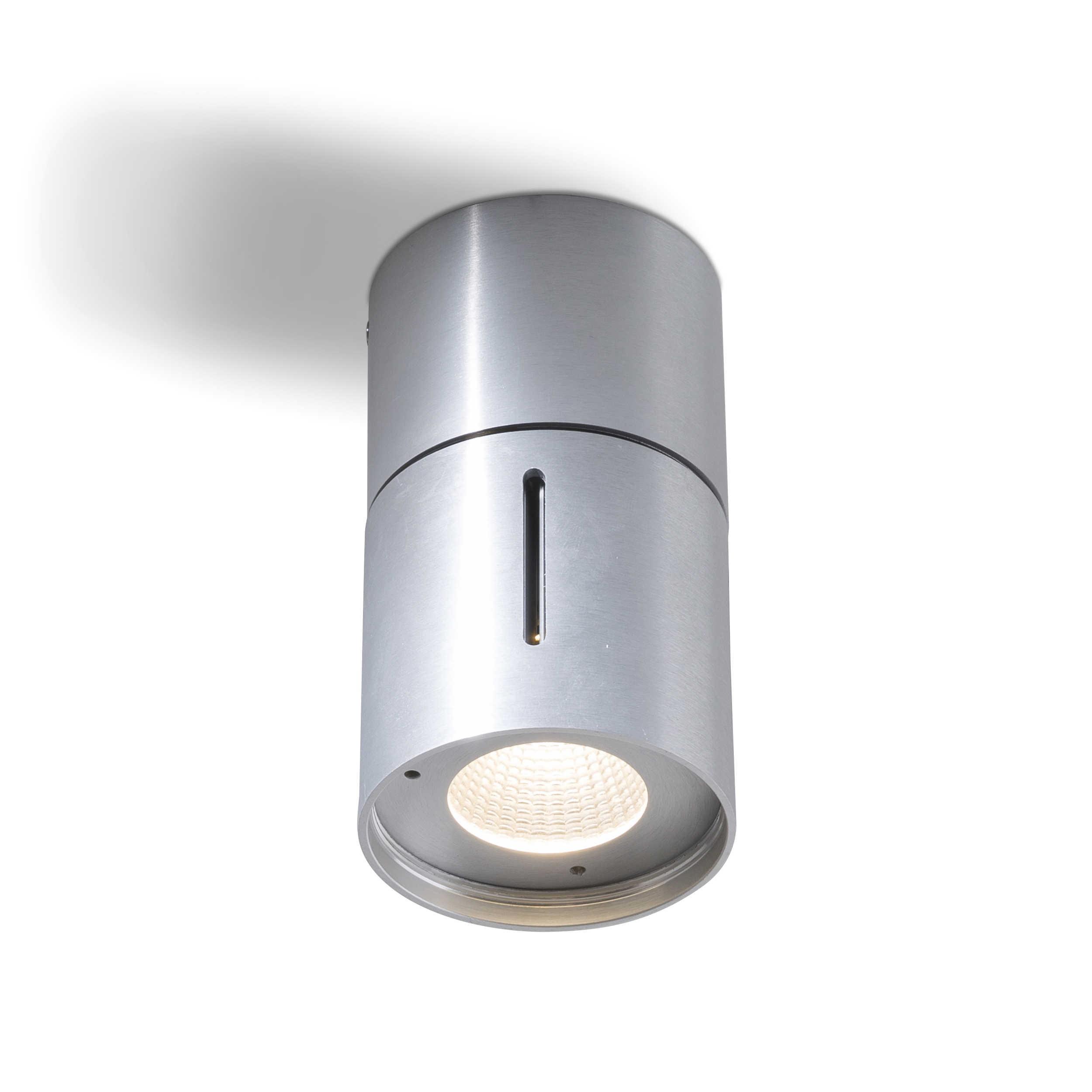 Designer Deckenleuchte Roma 30 Kaufen: DesignLive LED-Deckenleuchte Hugo A+ Silber Chrom,Alu