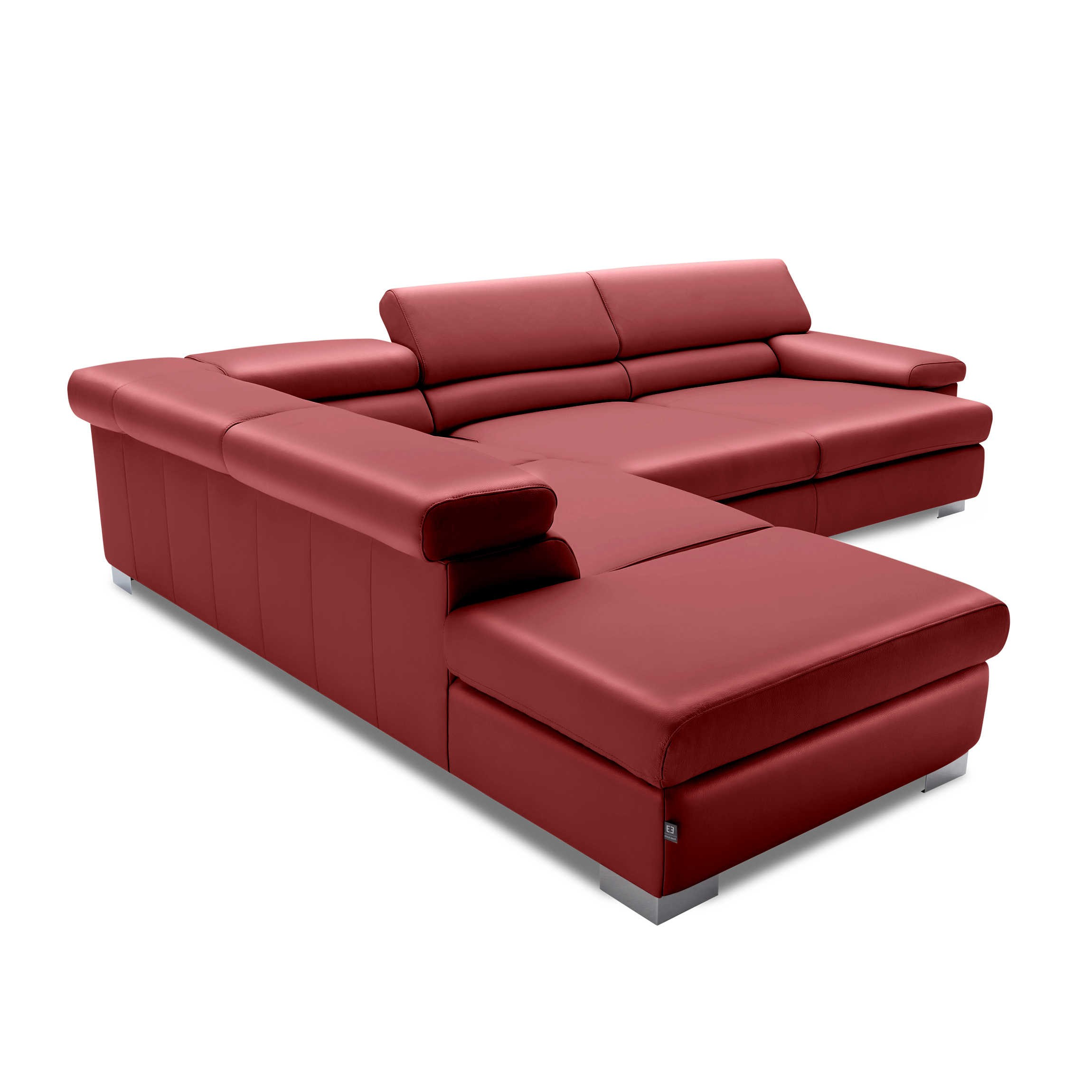 ewald schillig brand ecksofa courage rot leder l online kaufen bei woonio. Black Bedroom Furniture Sets. Home Design Ideas