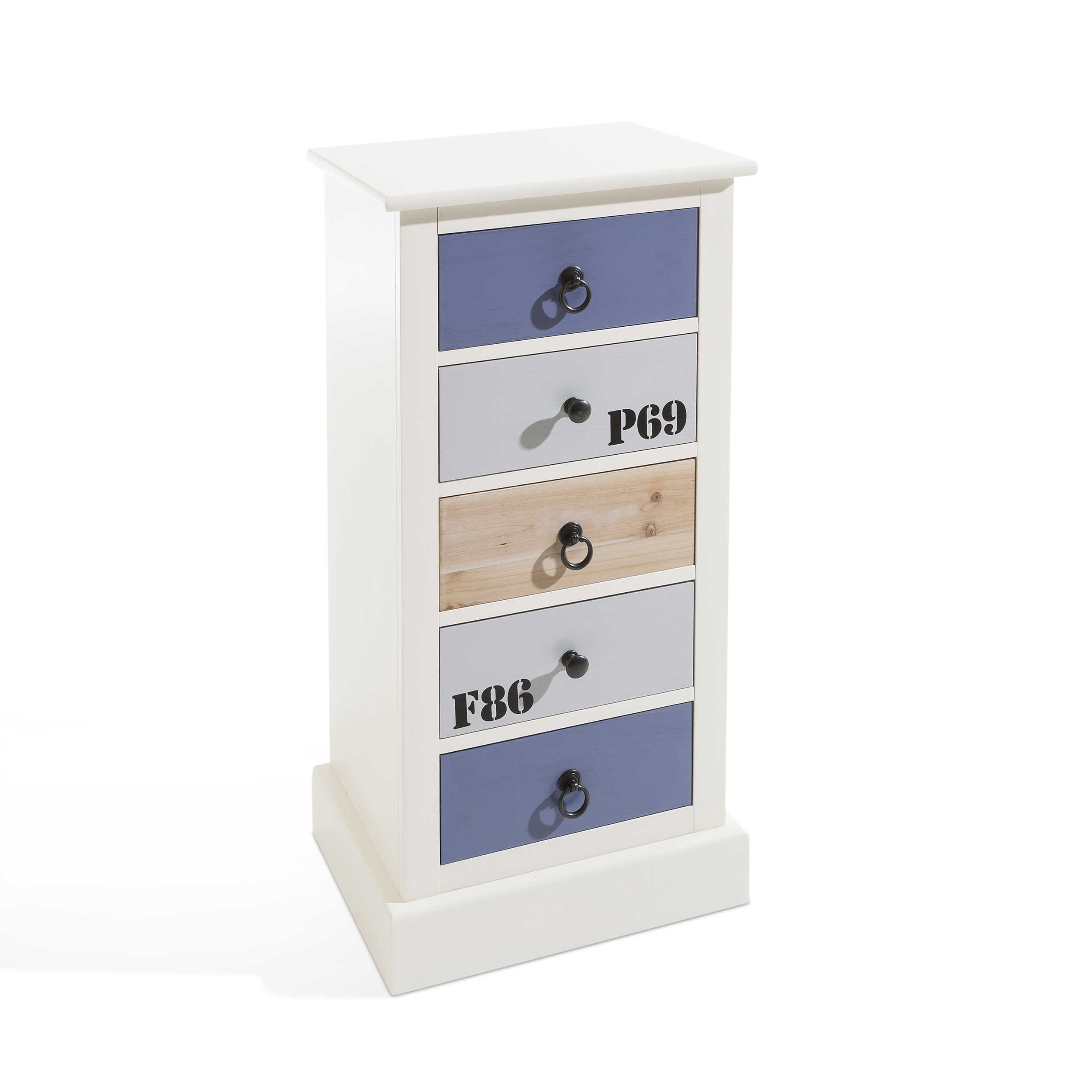 fmd kommode polino bunt holzoptik online kaufen bei woonio. Black Bedroom Furniture Sets. Home Design Ideas