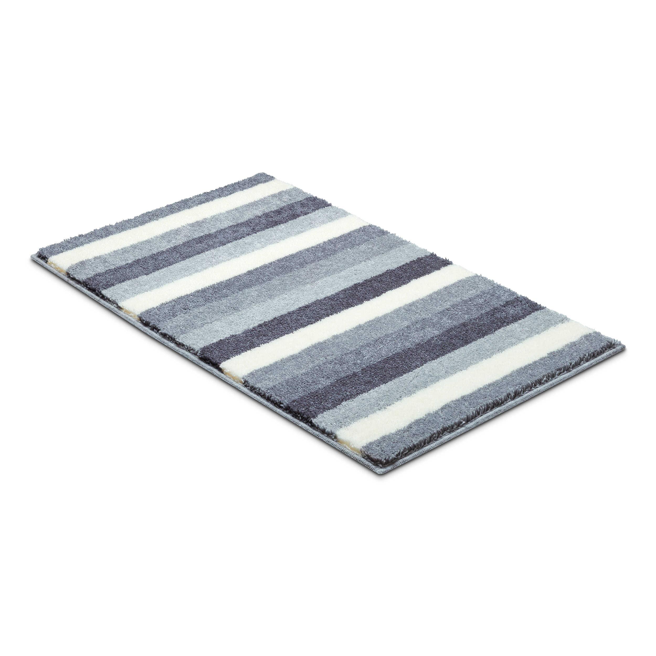 grund badteppich barcelona 80 x 140 cm grau polyacryl 80 x 140 cm online kaufen bei woonio. Black Bedroom Furniture Sets. Home Design Ideas