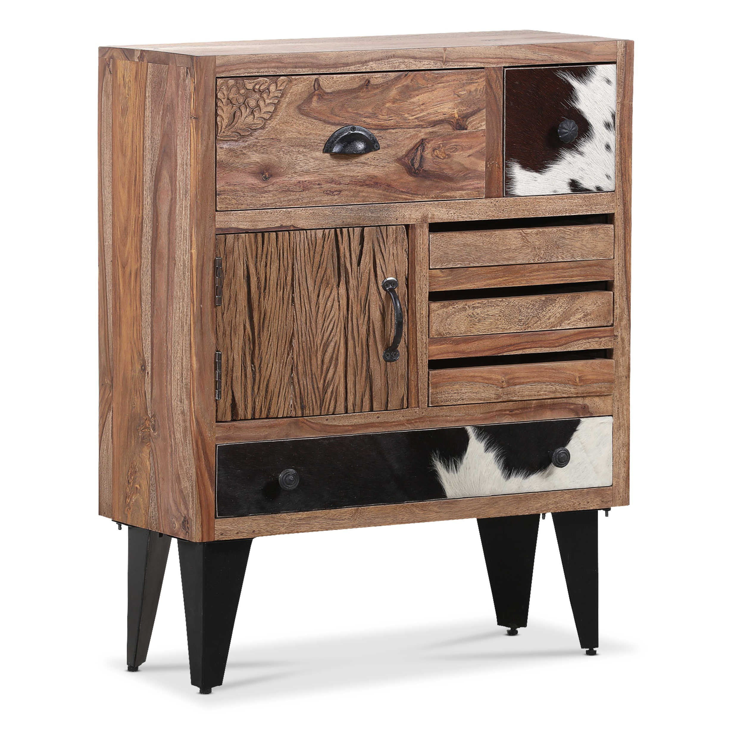 gutmann factory kommode bedford sheesham holz online kaufen bei woonio. Black Bedroom Furniture Sets. Home Design Ideas