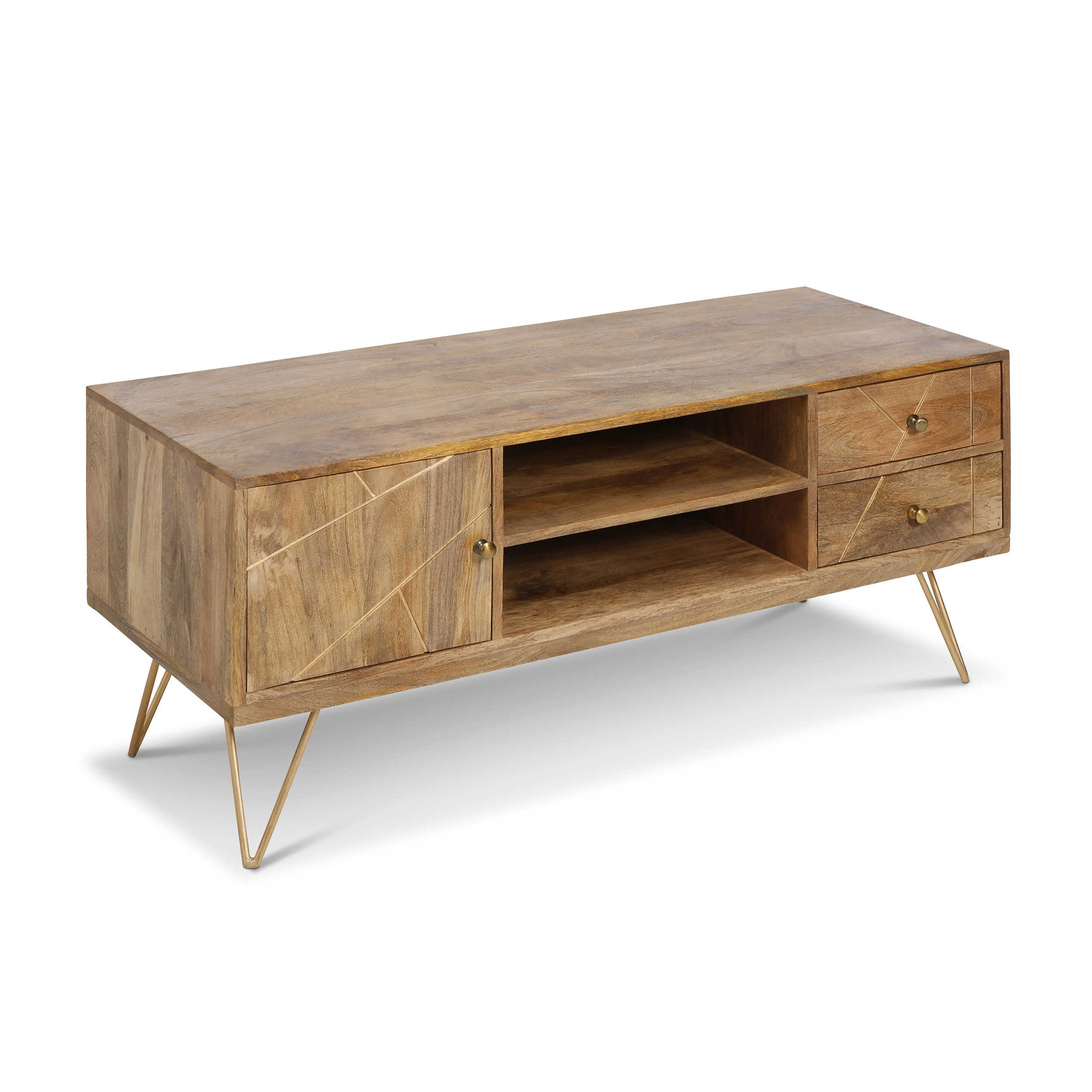 Wunderbar Holz Lowboard Ideen Von