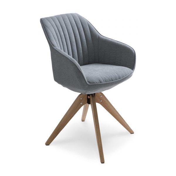 gutmann factory stuhl chill blau stoff online kaufen bei woonio. Black Bedroom Furniture Sets. Home Design Ideas