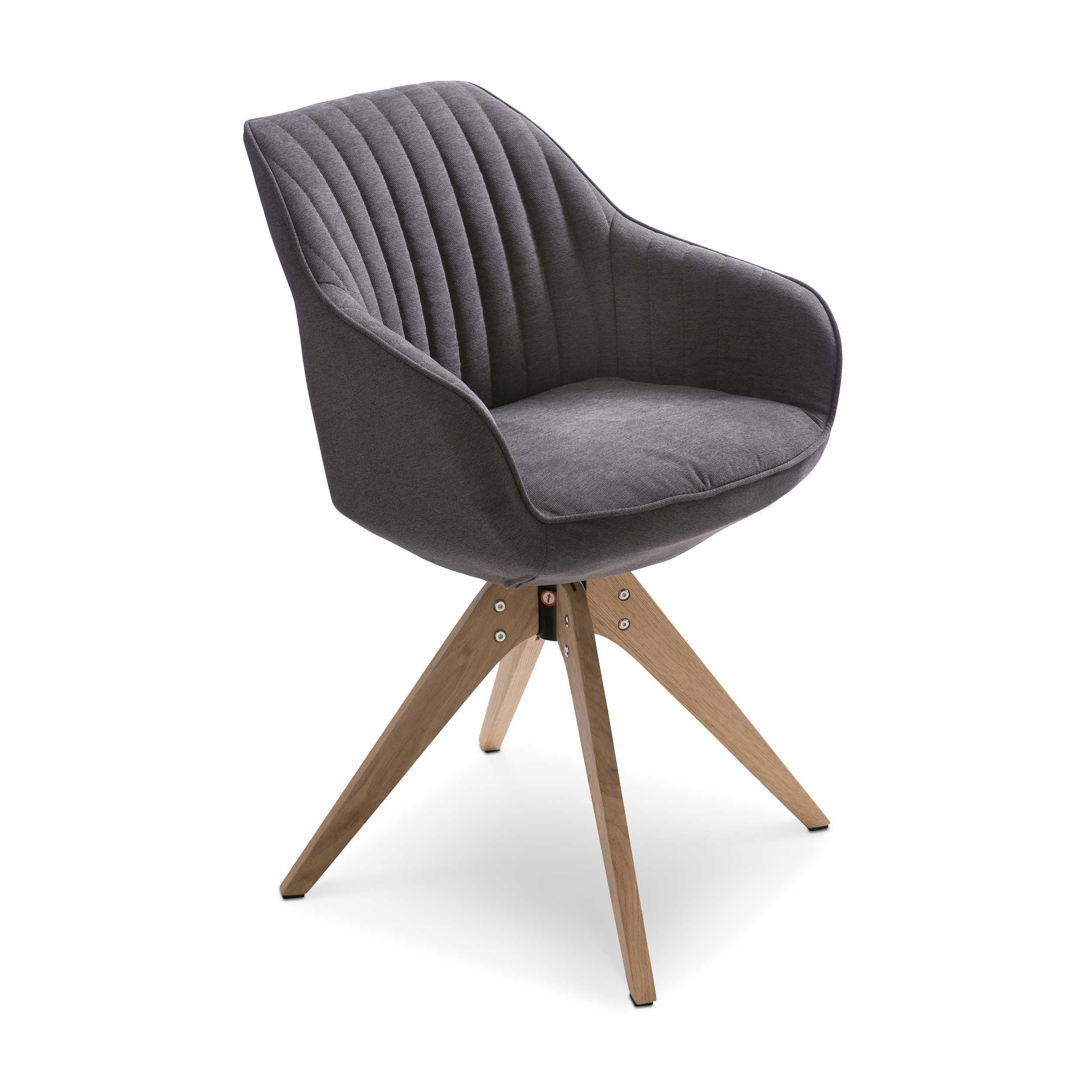 gutmann factory stuhl chill grau stoff online kaufen bei woonio. Black Bedroom Furniture Sets. Home Design Ideas