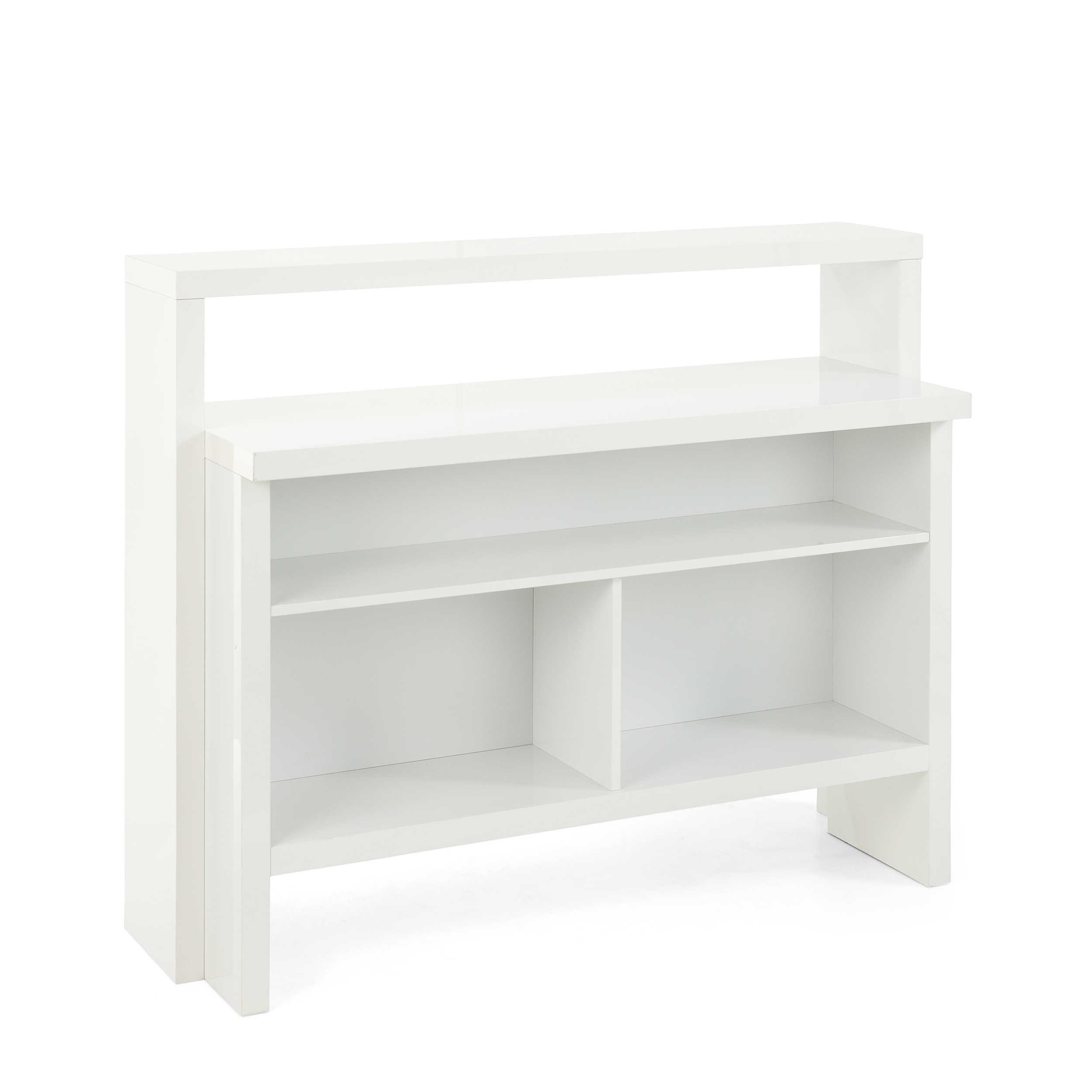 Hmw Bartisch Pescara 130 X 50 Cm Weiß Lack Hochglanz 130 Cm Online