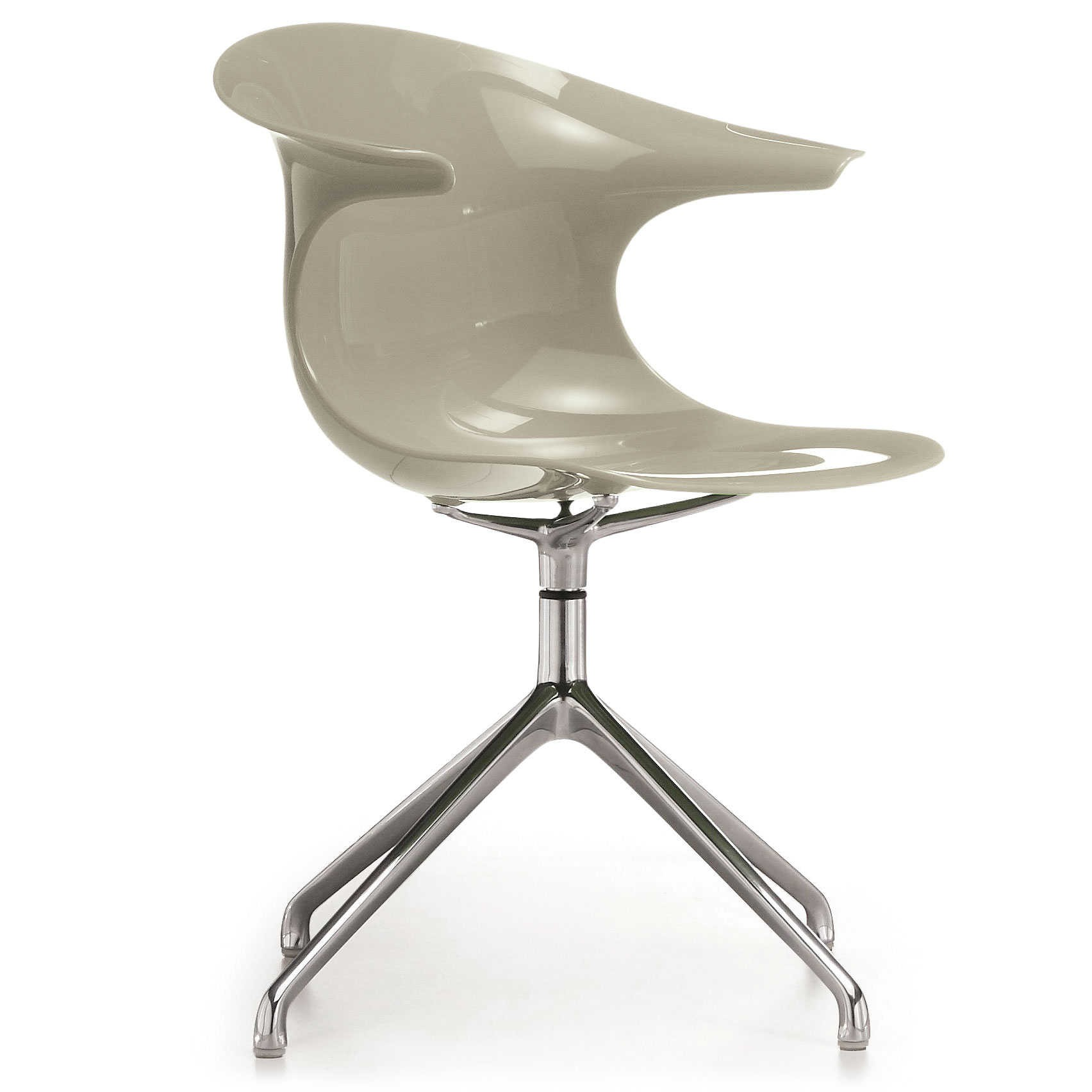 infiniti stuhl loop grau kunststoff online kaufen bei woonio. Black Bedroom Furniture Sets. Home Design Ideas