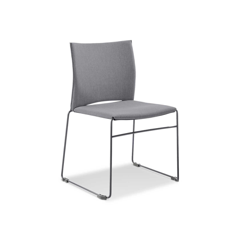 infiniti stuhl web grau stoff online kaufen bei woonio. Black Bedroom Furniture Sets. Home Design Ideas