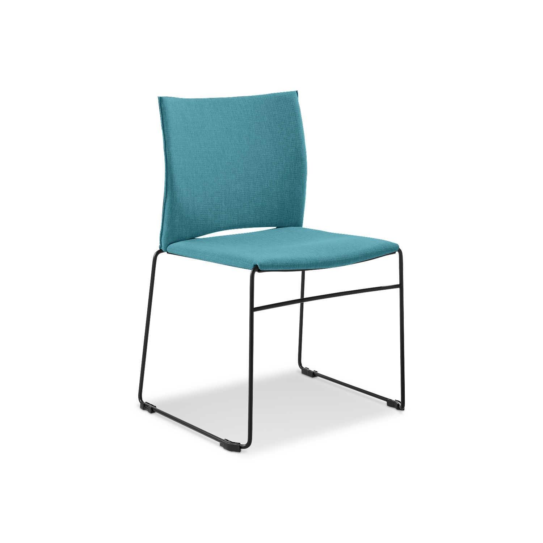 infiniti stuhl web t rkis stoff online kaufen bei woonio. Black Bedroom Furniture Sets. Home Design Ideas