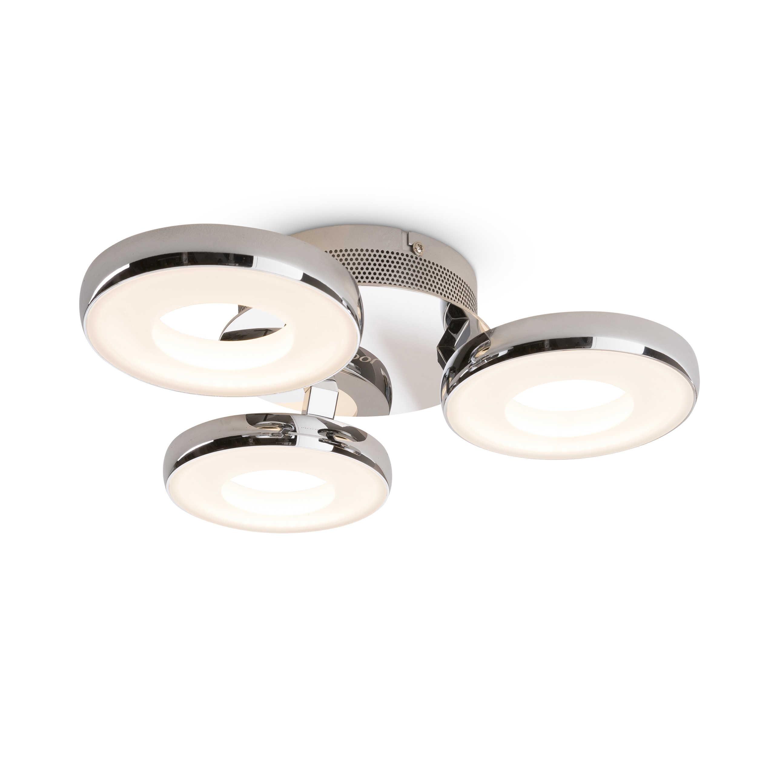 joop led deckenleuchte circle a chrom alu eisen stahl metall online kaufen bei woonio. Black Bedroom Furniture Sets. Home Design Ideas