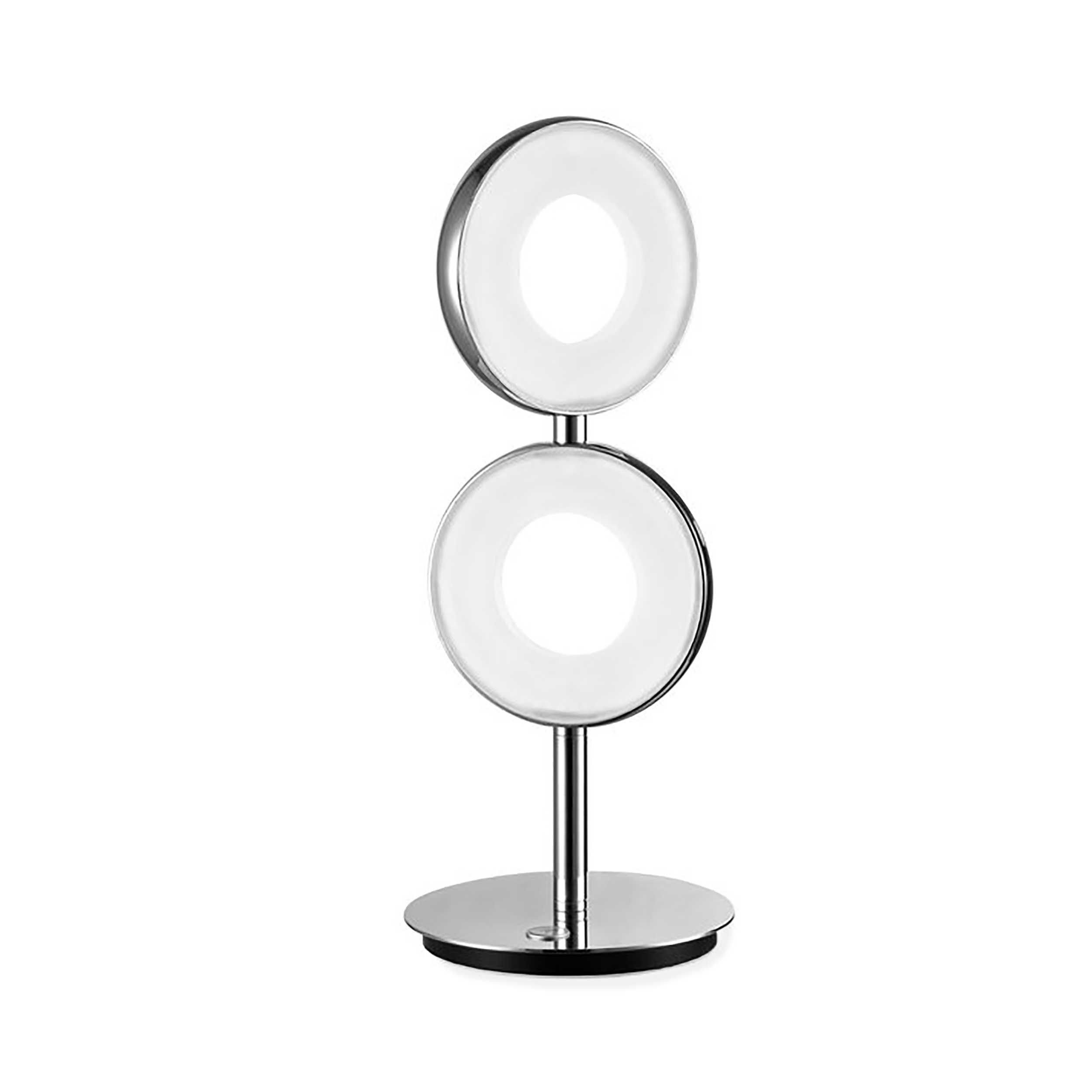 joop led tischleuchte circle a chrom alu eisen stahl metall online kaufen bei woonio. Black Bedroom Furniture Sets. Home Design Ideas