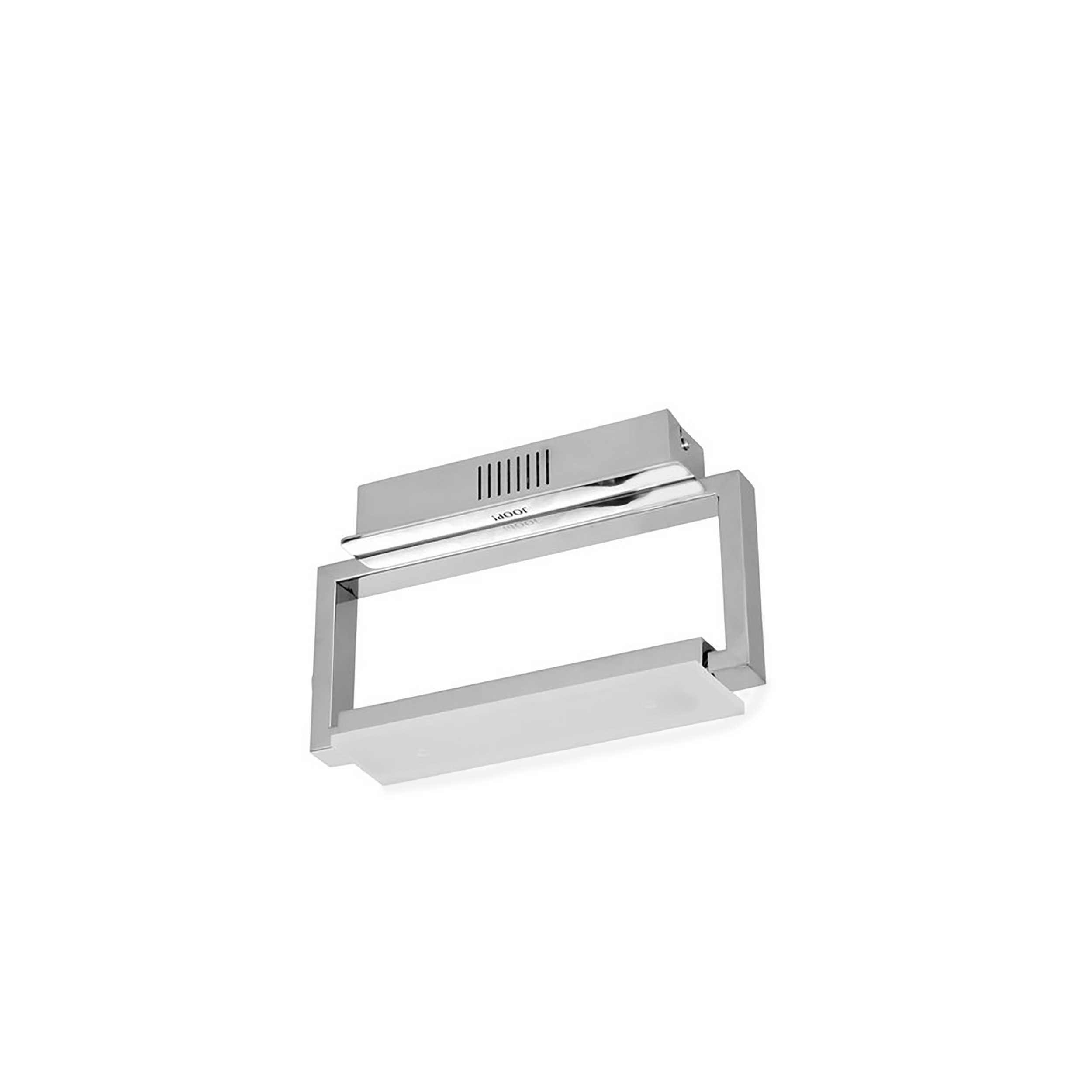 joop led wandleuchte cubic a chrom alu eisen stahl metall online kaufen bei woonio. Black Bedroom Furniture Sets. Home Design Ideas