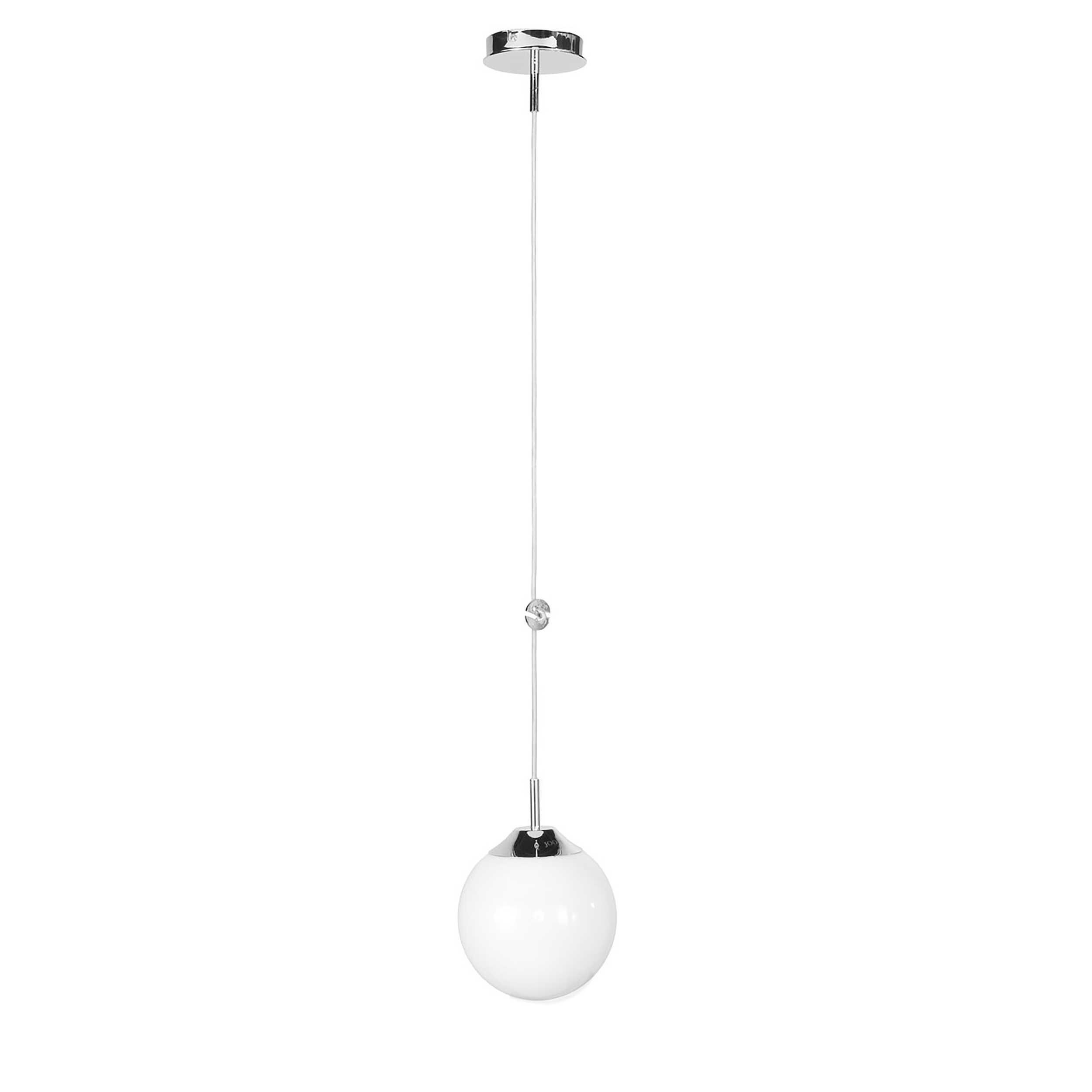 joop pendelleuchte bowl a chrom alu eisen stahl metall 20 cm online kaufen bei woonio. Black Bedroom Furniture Sets. Home Design Ideas