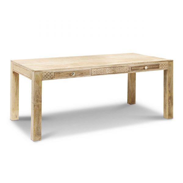 KARE Esstisch mit Schüben Puro Plain 140 x 70 cm